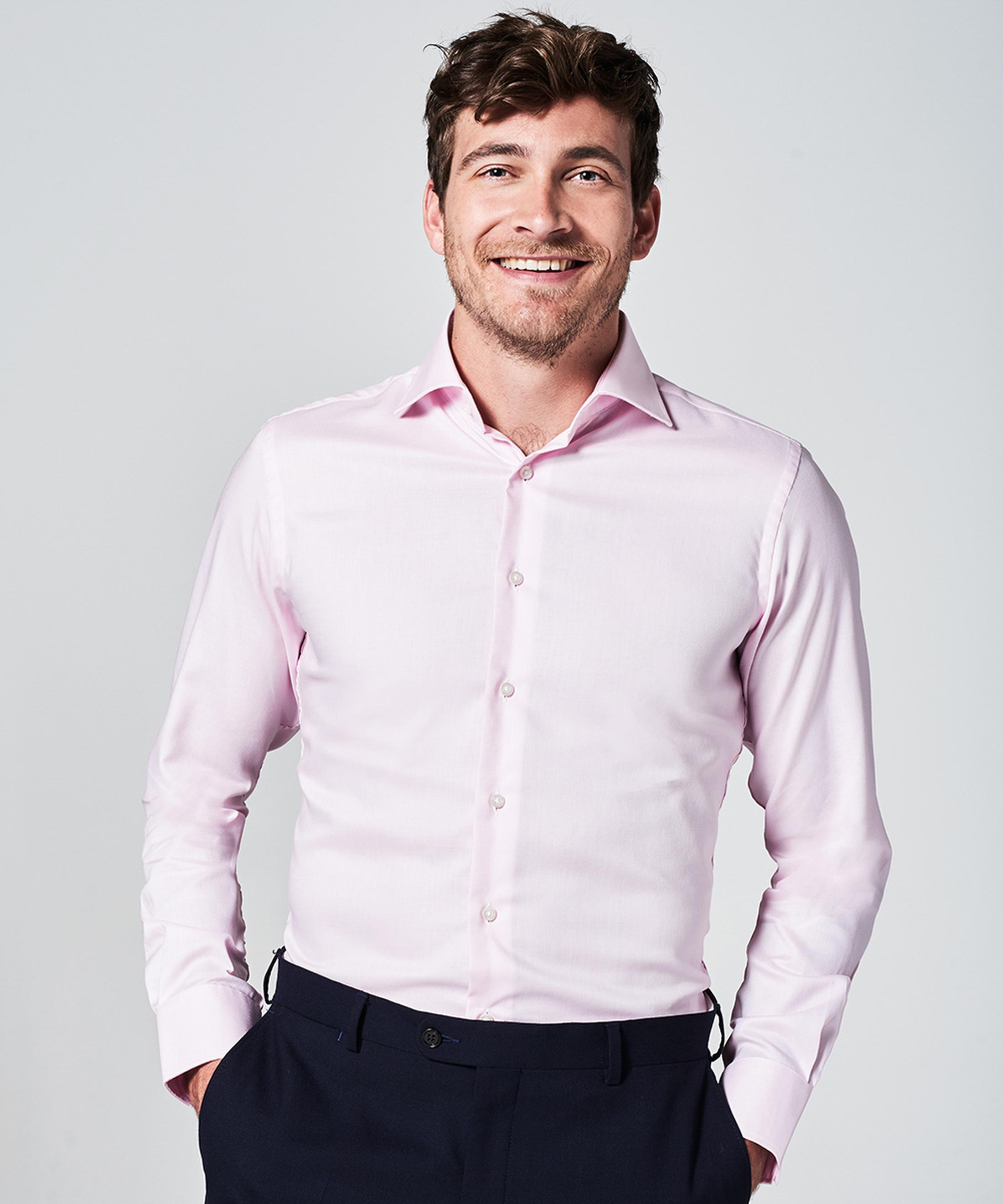 Michaelis Overhemd SlimFit Roze foto 4