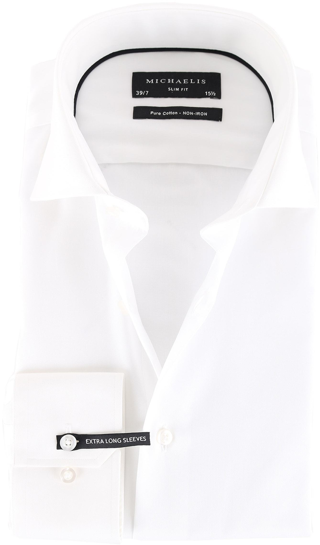 Michaelis Overhemd Wit SL7 foto 0
