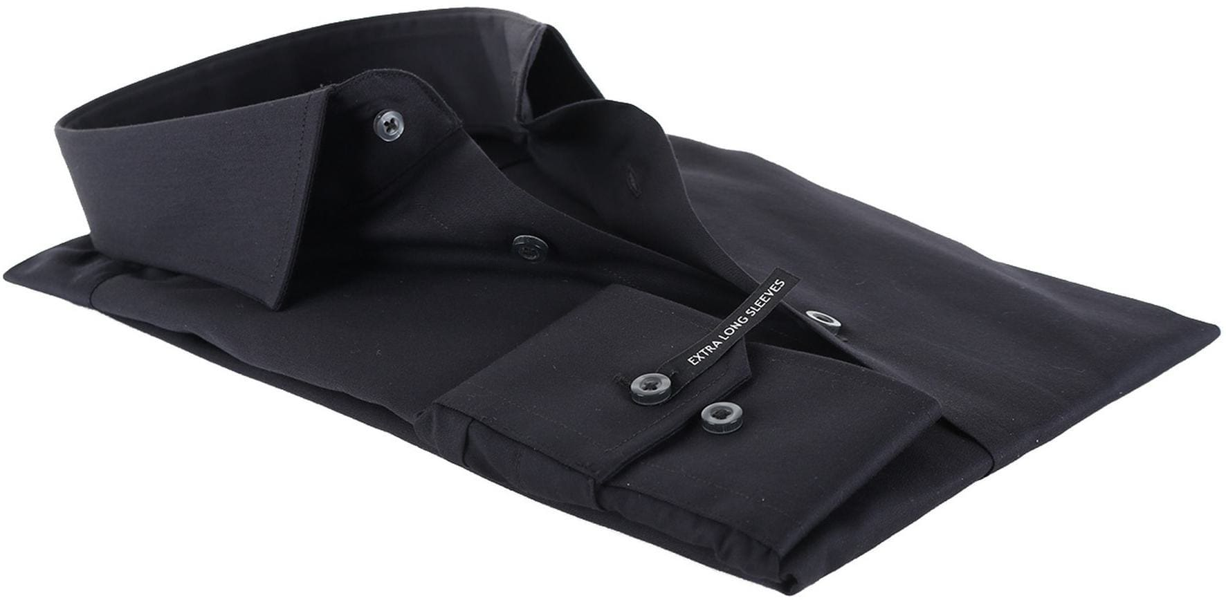 Michaelis Overhemd Zwart SL7 foto 3