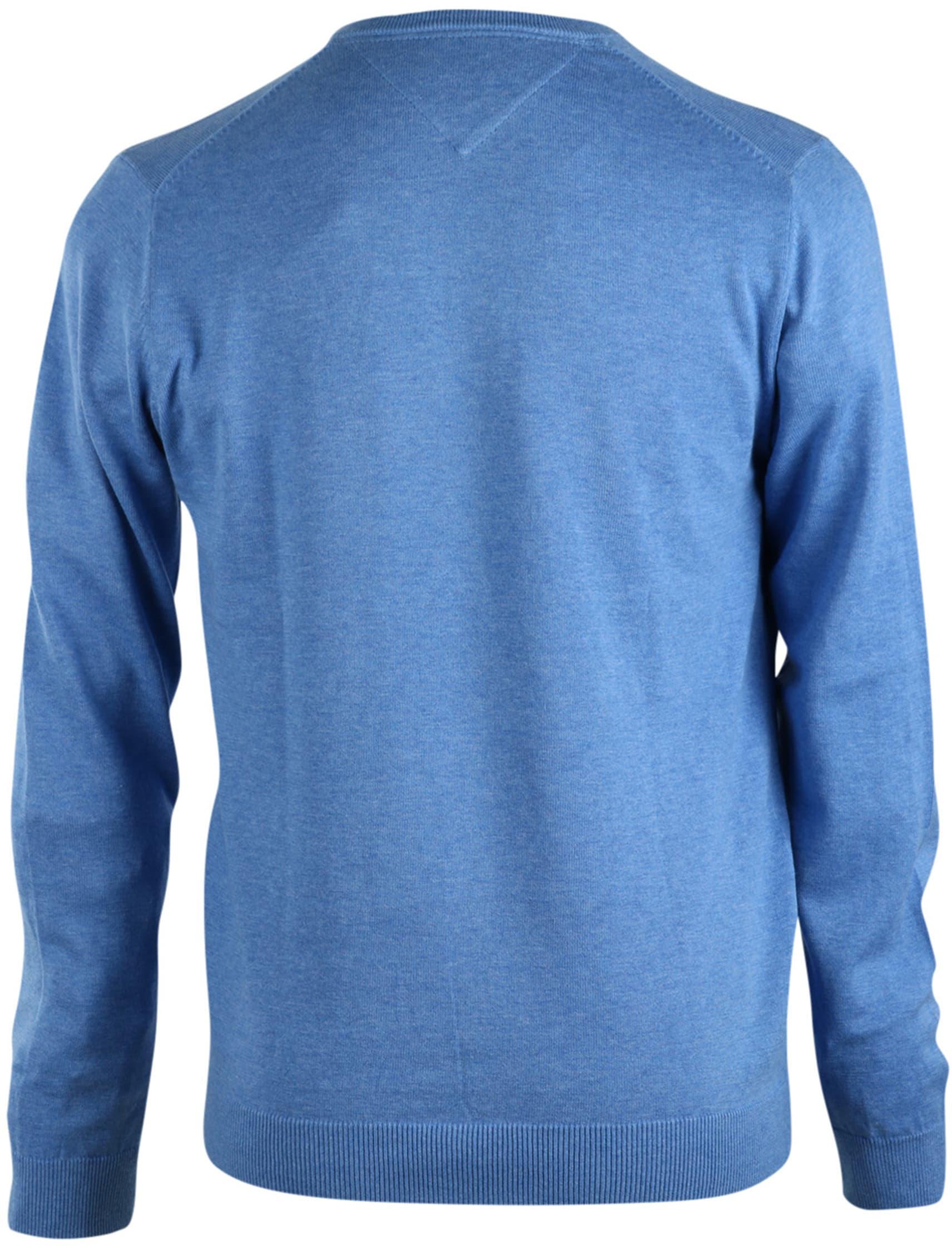 Michaelis Pullover V-Hals Lichtblauw foto 1