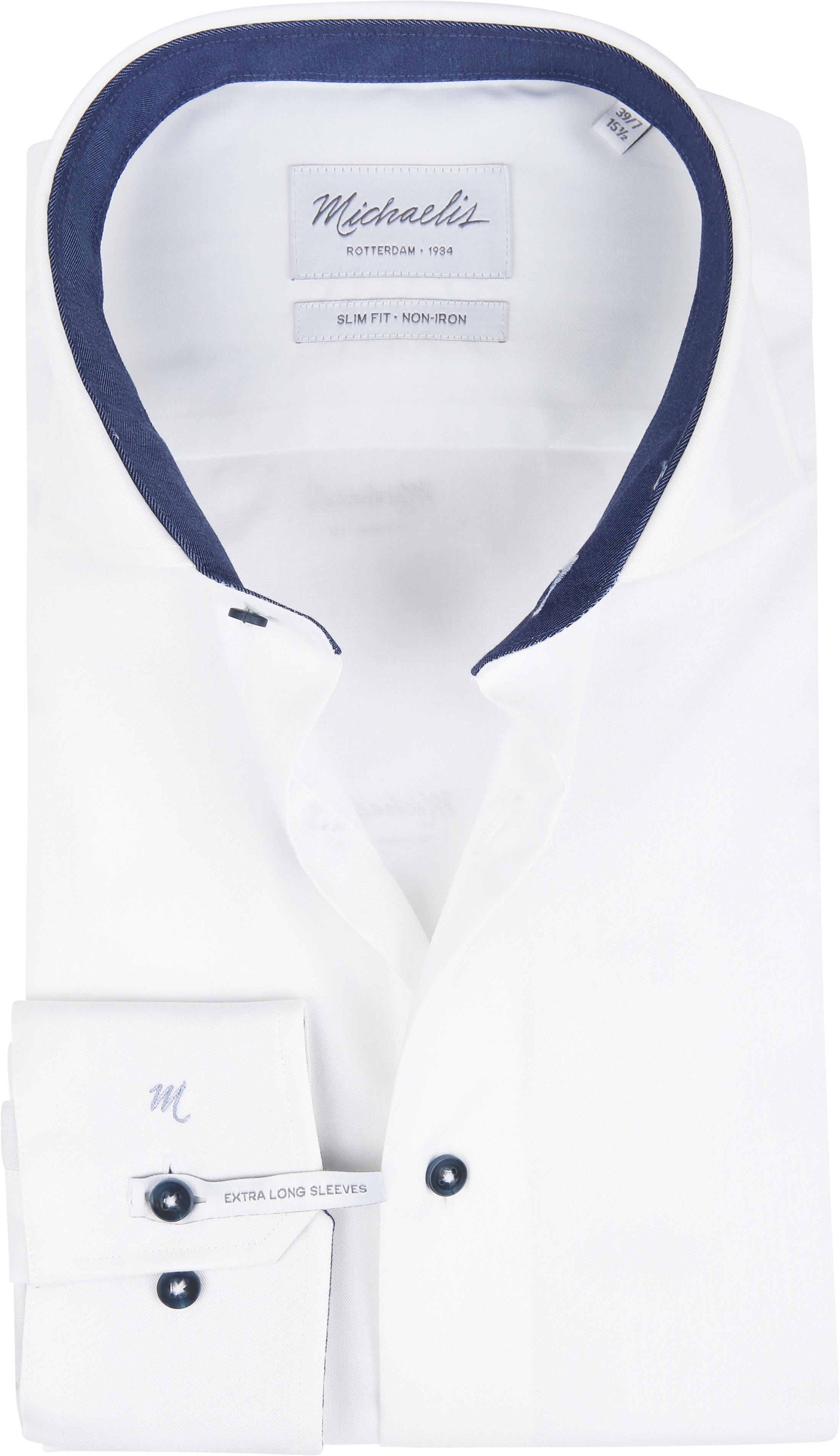Michaelis Shirt White Non Iron SL7 foto 0