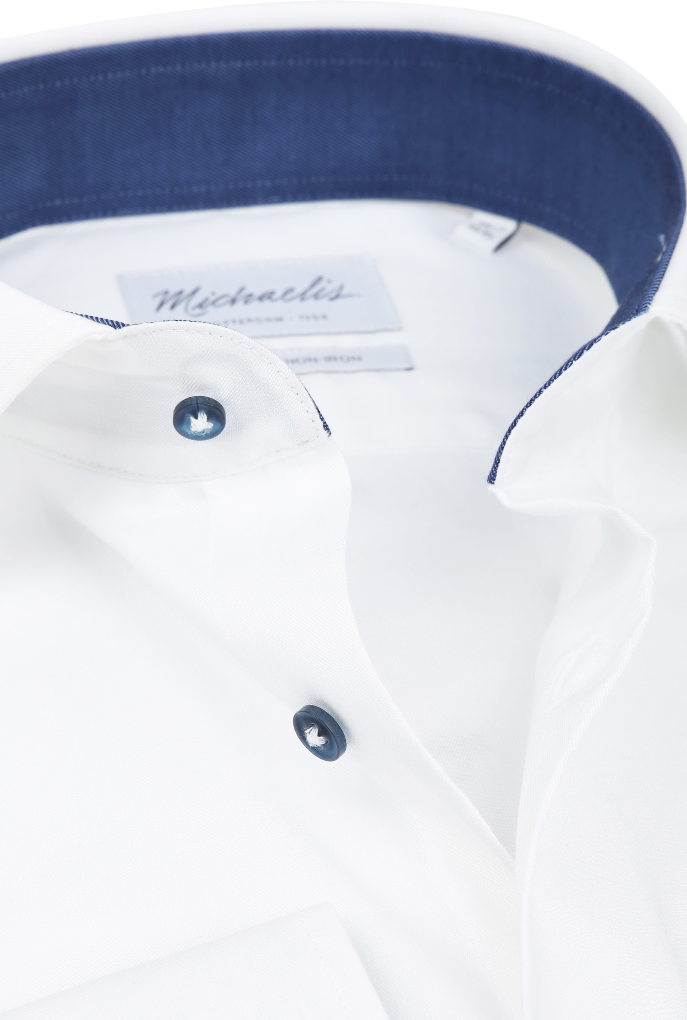Michaelis Shirt White Non Iron SL7 foto 1