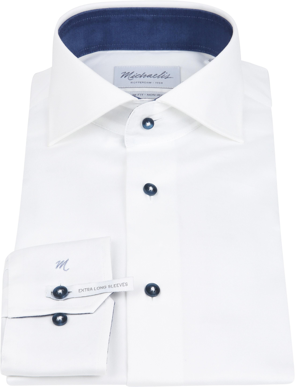 Michaelis Shirt White Non Iron SL7 foto 2