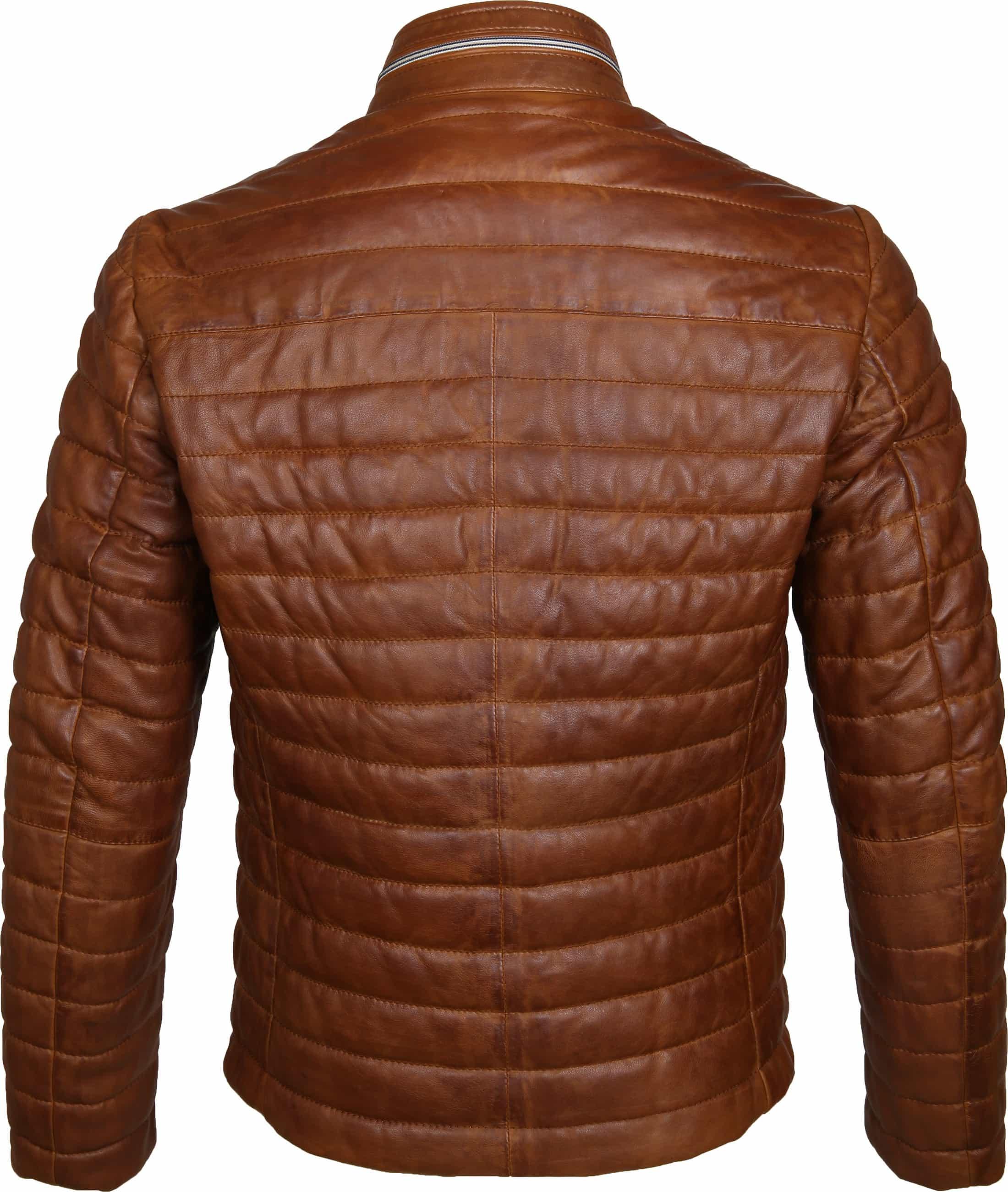 Milestone Tereno Leather Jacket Cognac foto 5