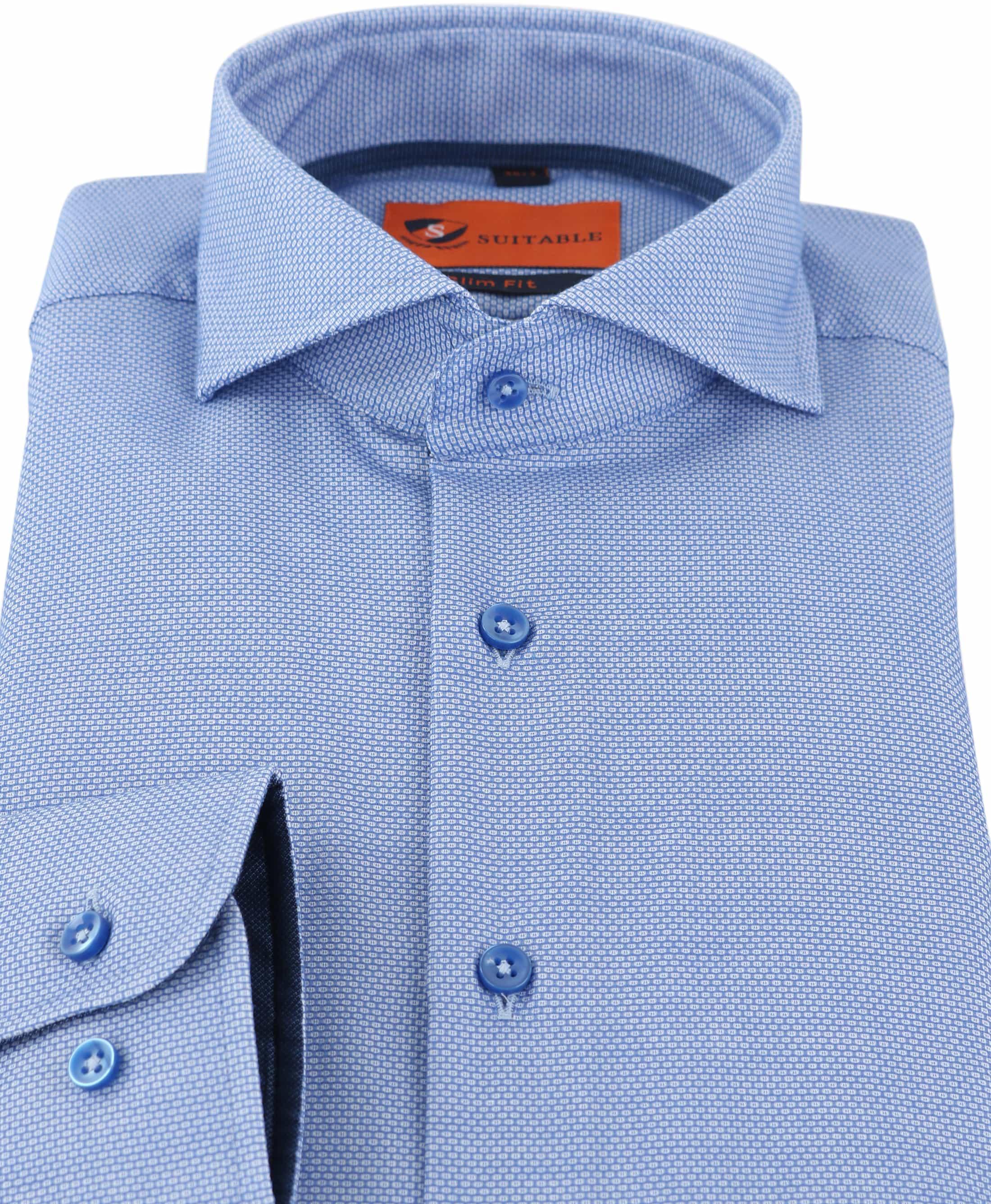 Mouwlengte 7 Overhemd Blauw 150-3 foto 1
