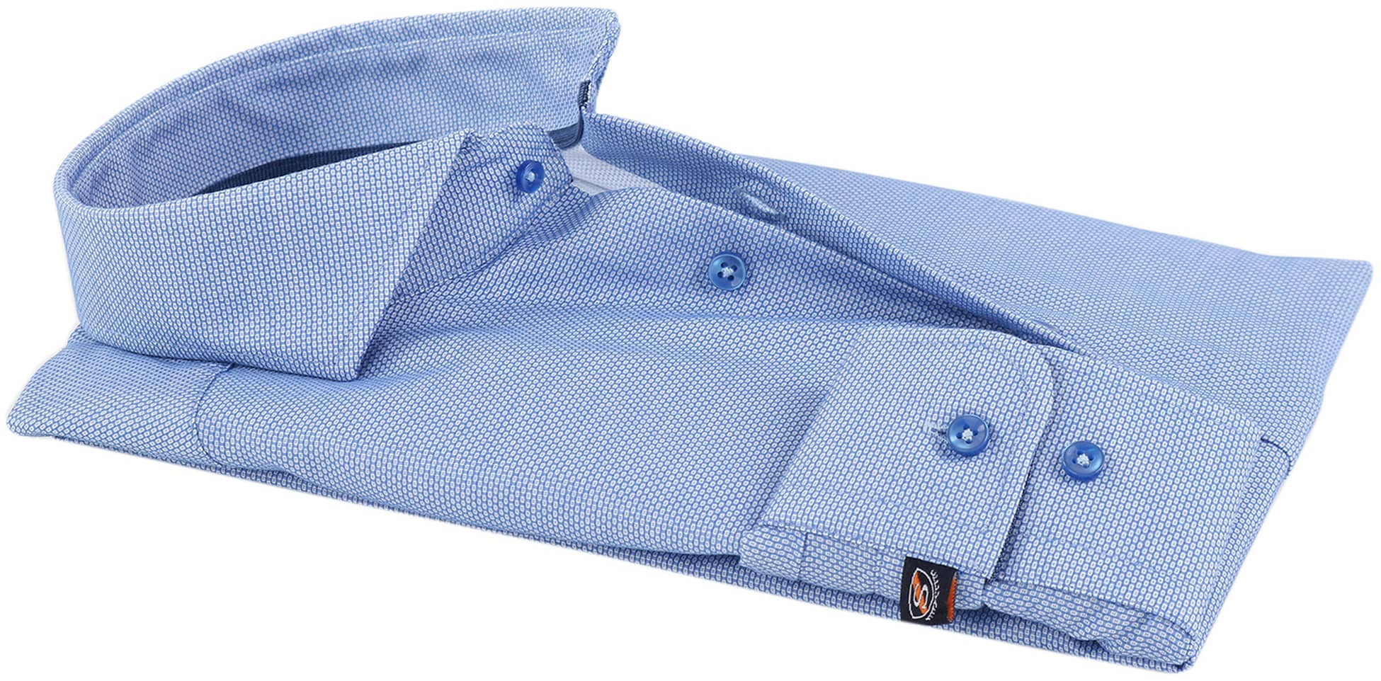 Mouwlengte 7 Overhemd Blauw 150-3 foto 2
