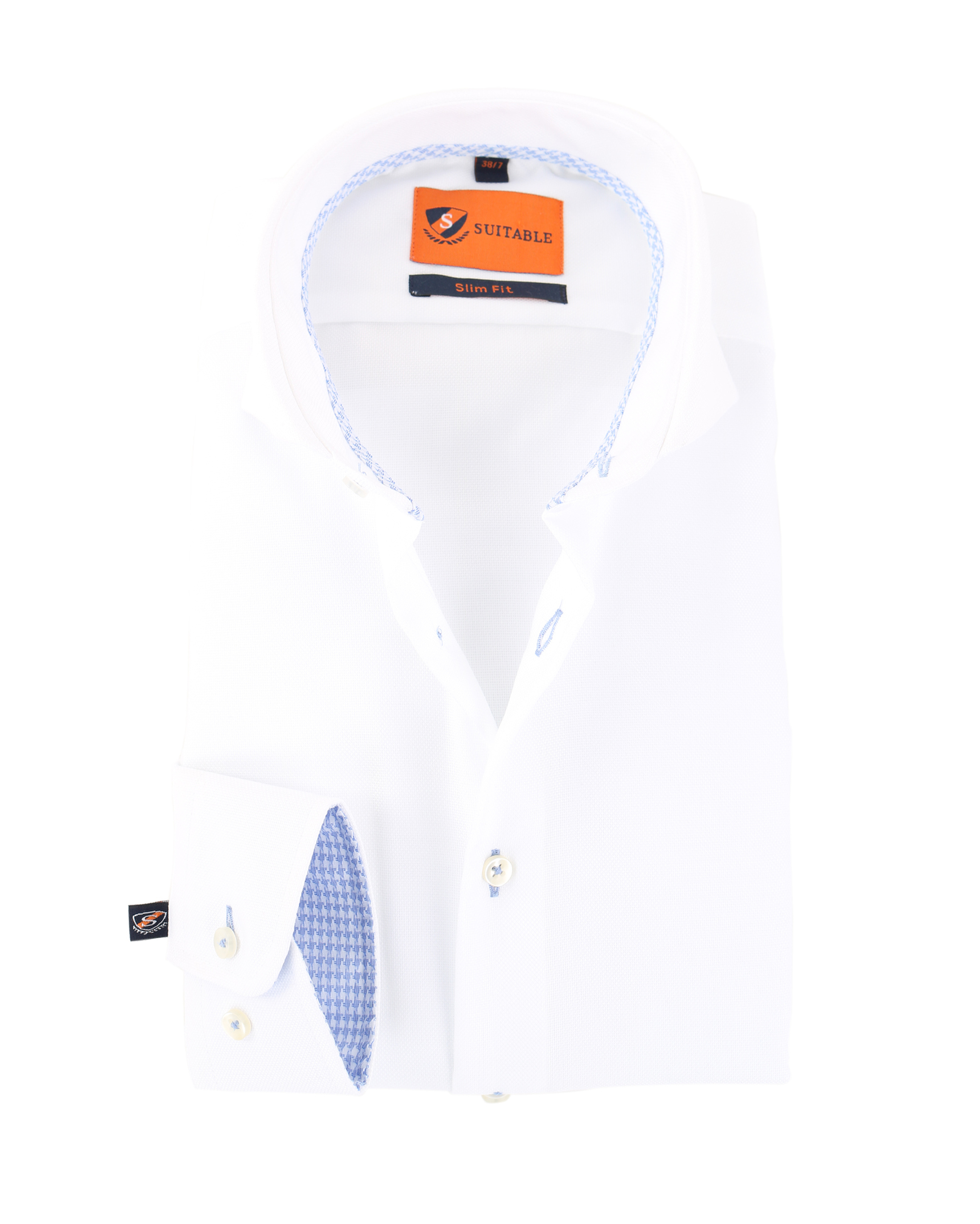 Mouwlengte 7 Overhemd Wit 150-1 foto 0