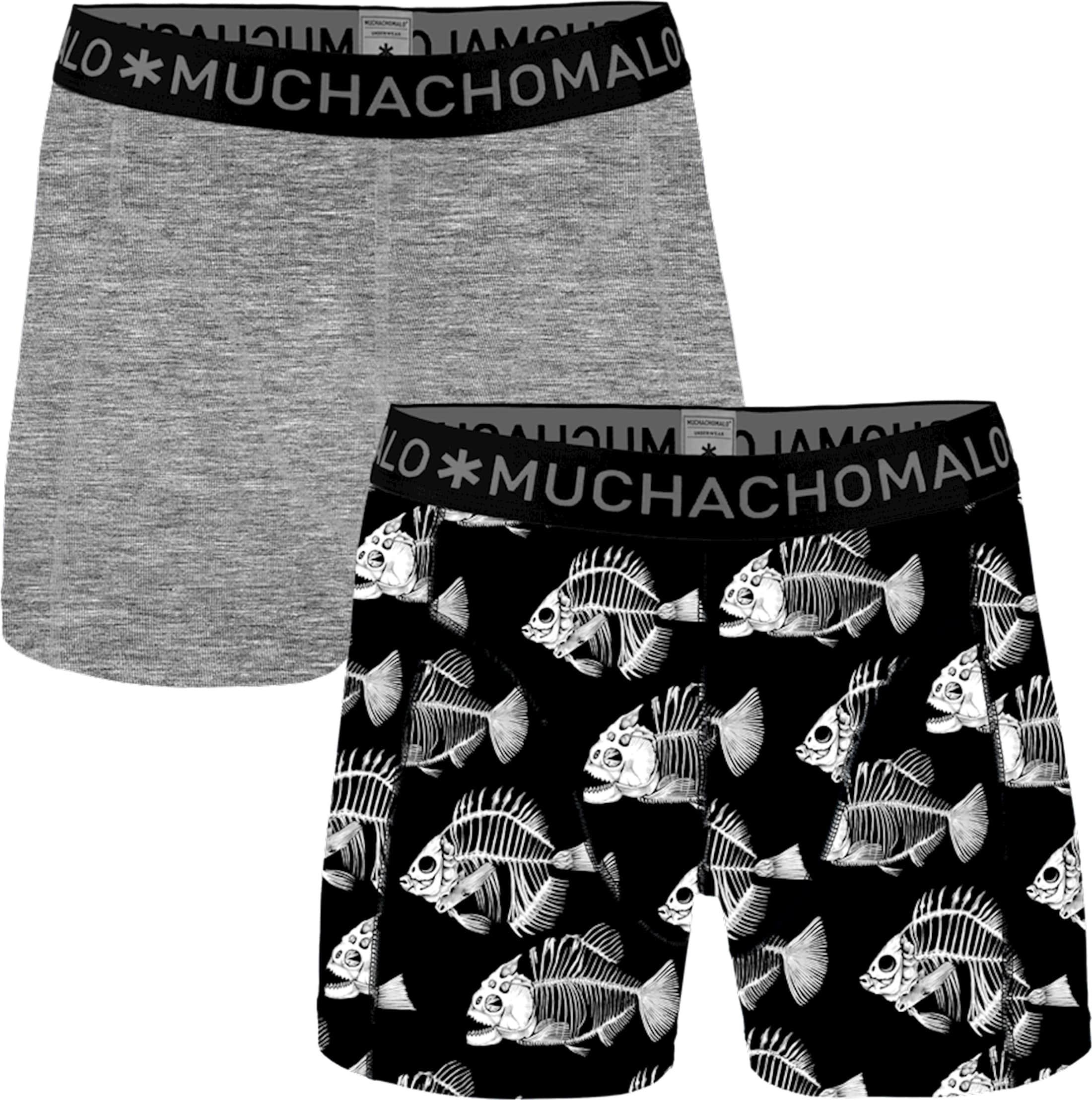 Muchachomalo Boxershorts 2-Pack Fish 7 foto 0