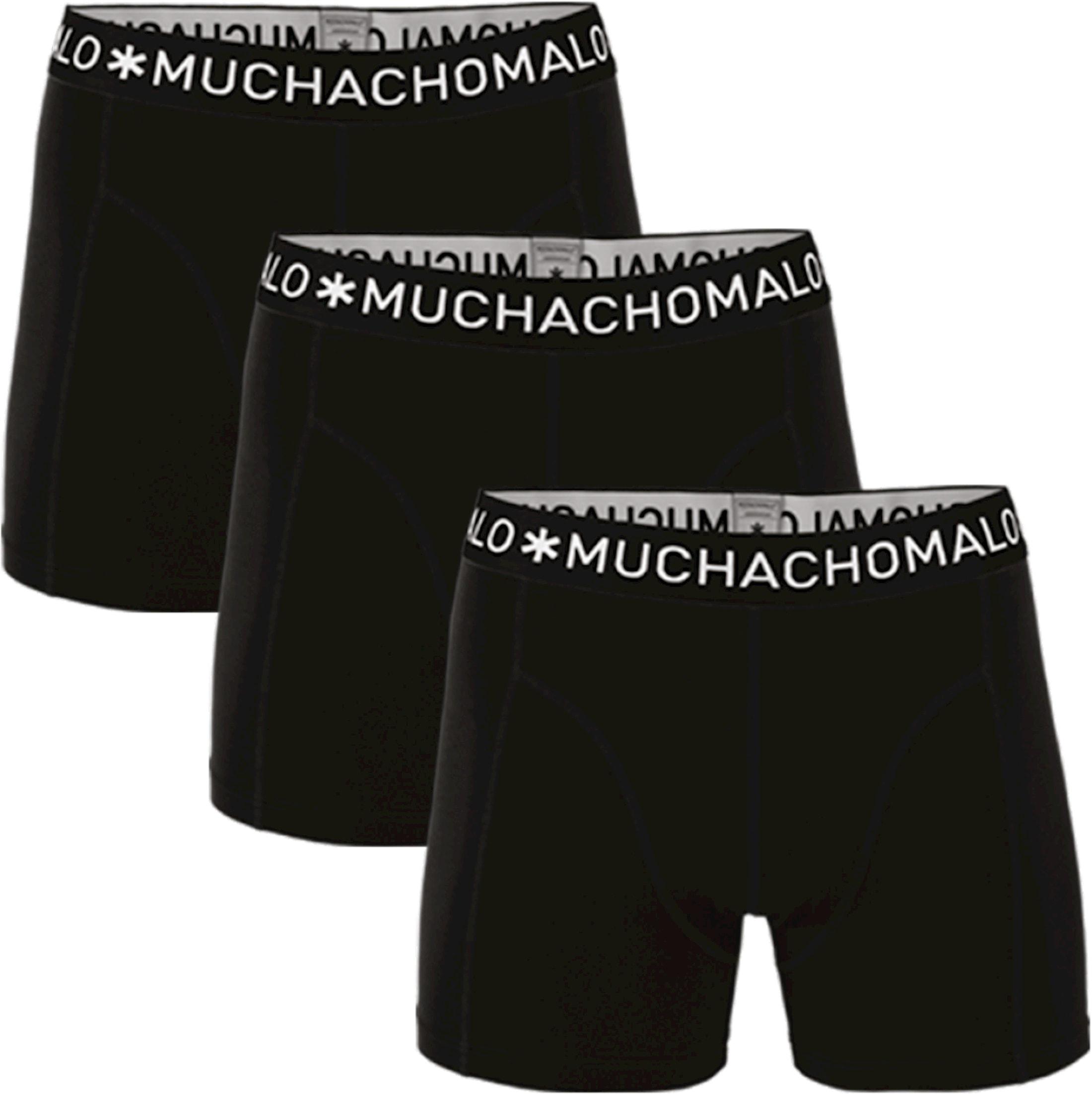 Muchachomalo Boxershorts 3er-Pack Schwarz 185 foto 0