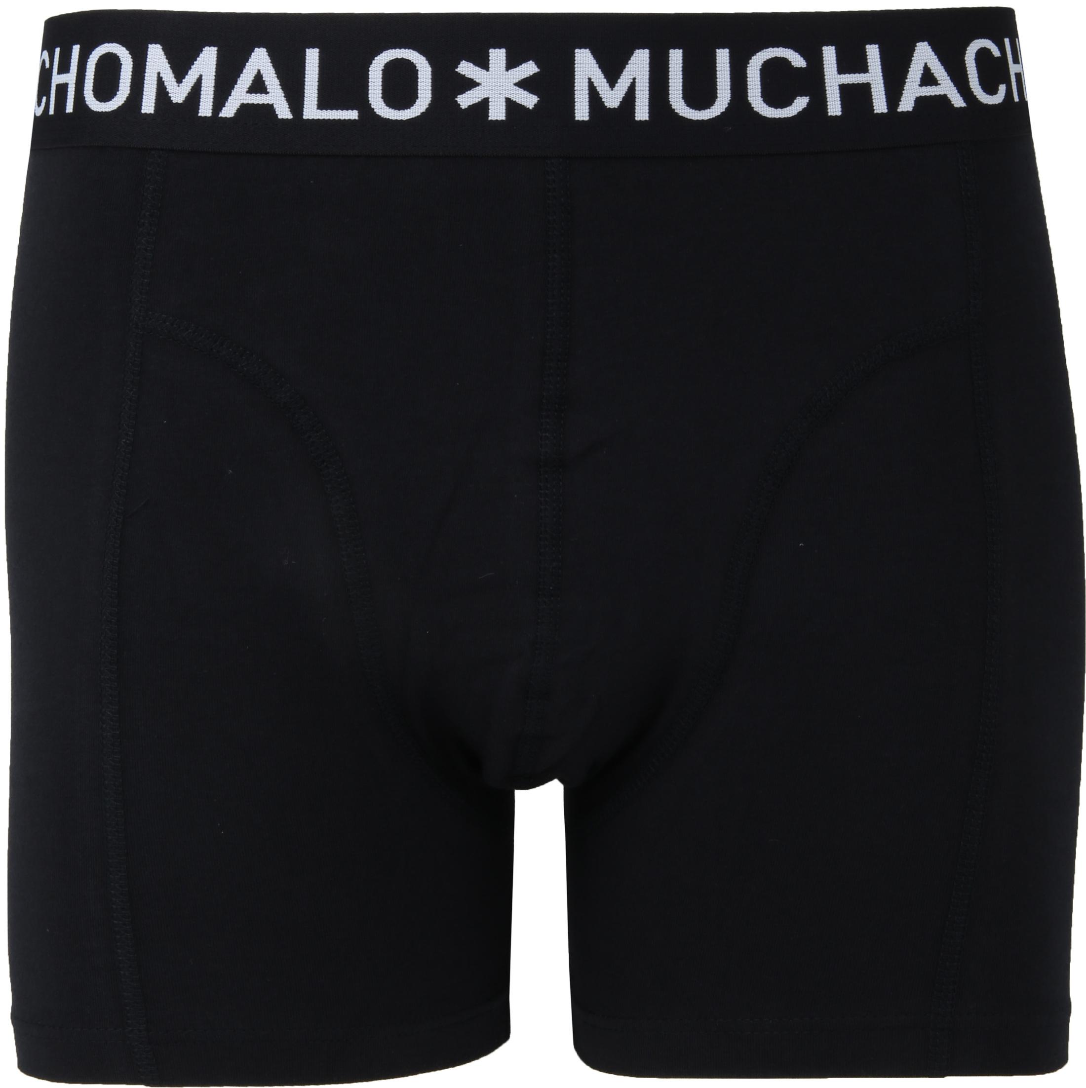 Muchachomalo Boxershorts 3er-Pack Schwarz 185 Foto 1