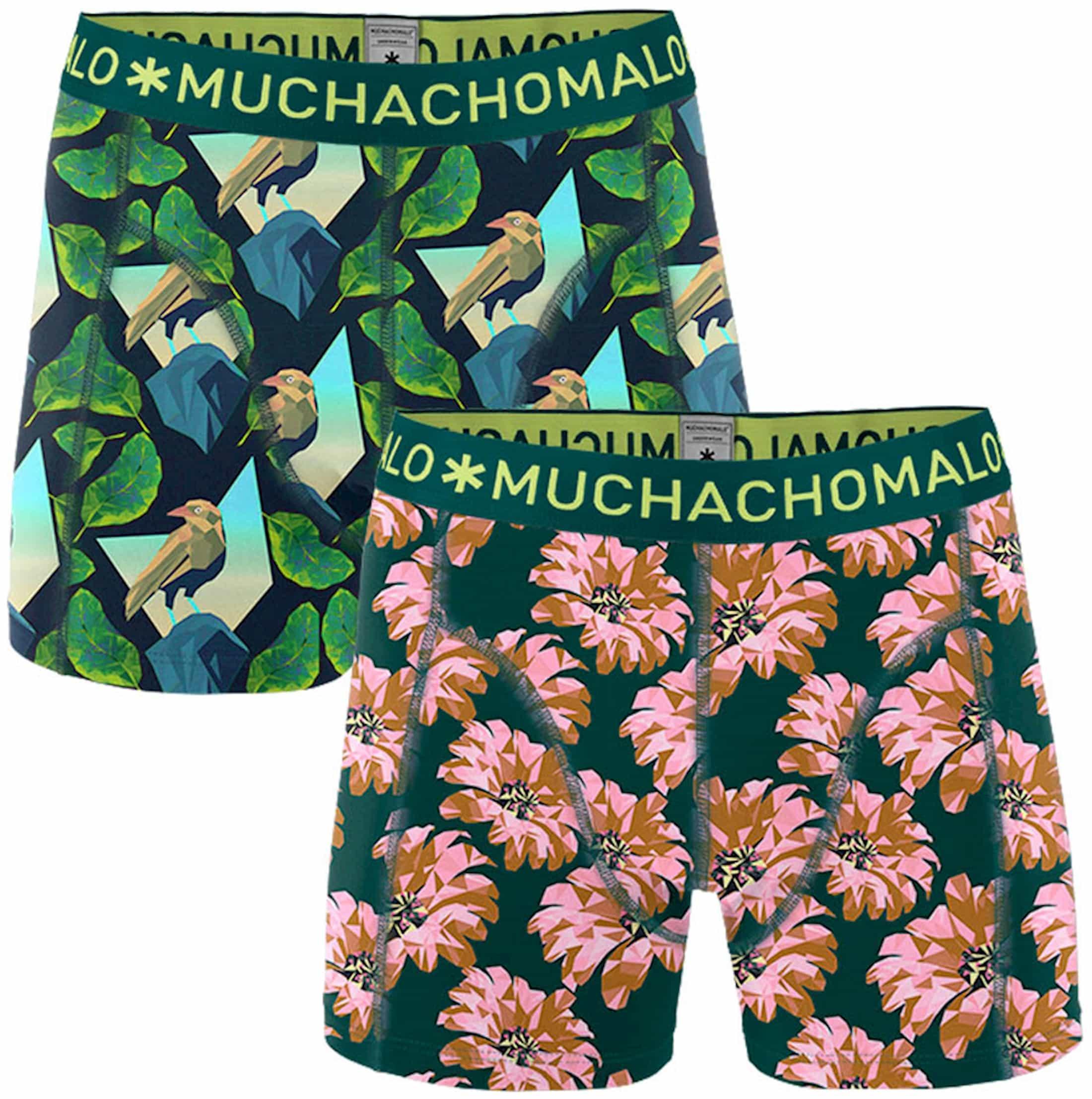 Muchachomalo Shorts 2er-Pack Fish 3D foto 0