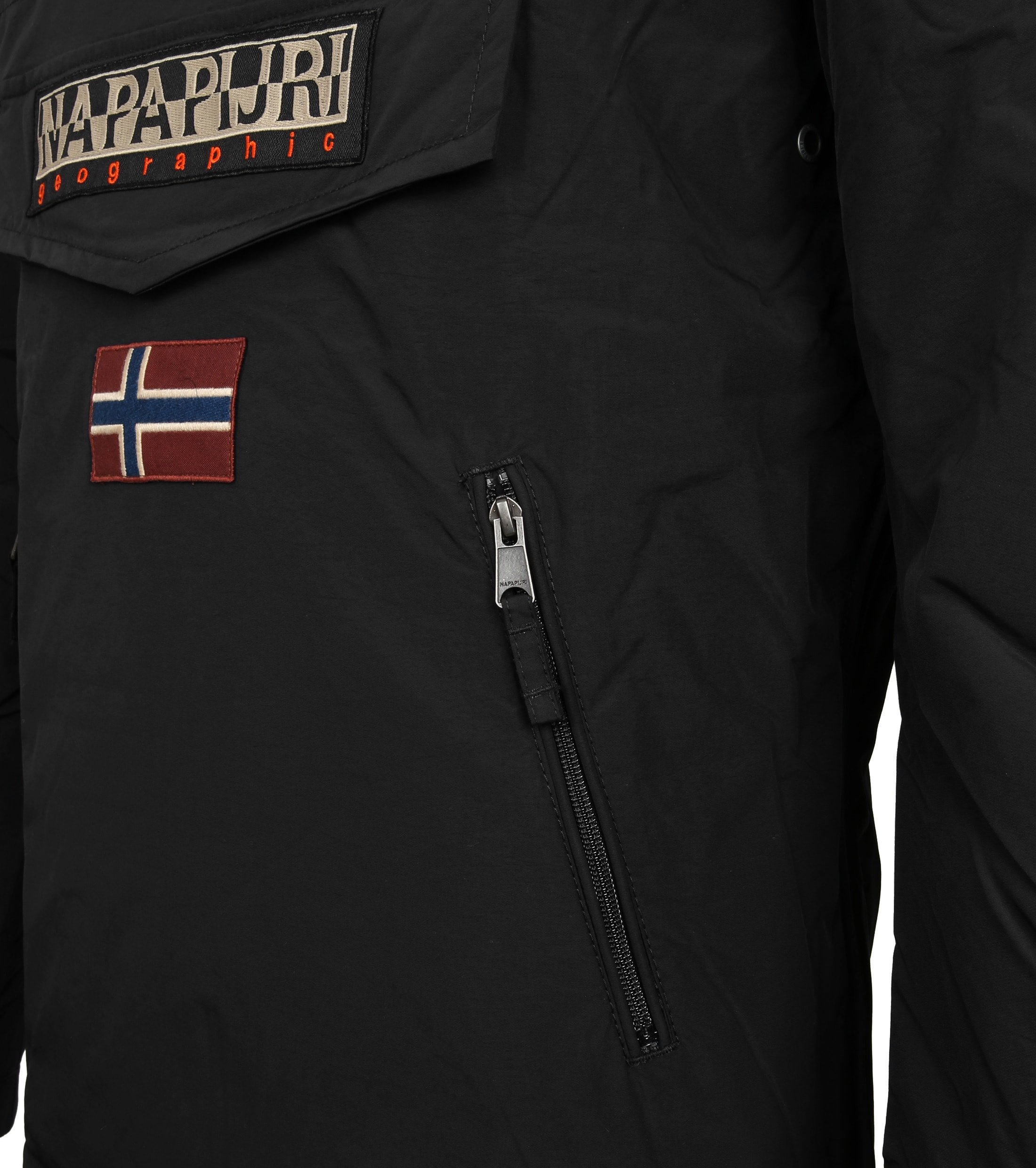 Napapijri Anorak Rainforest Pocket Black foto 3