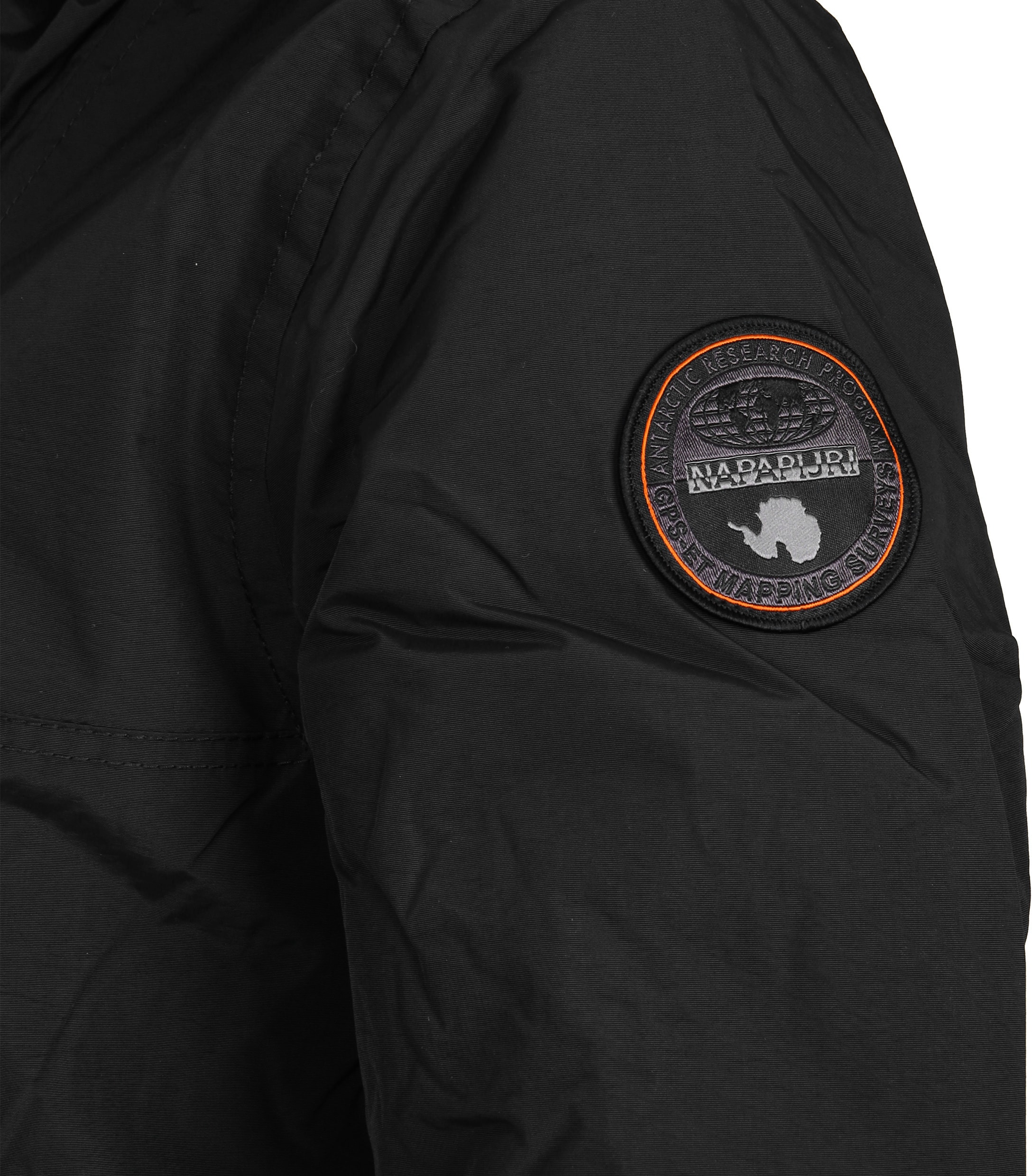 Napapijri Anorak Rainforest Pocket Black foto 4