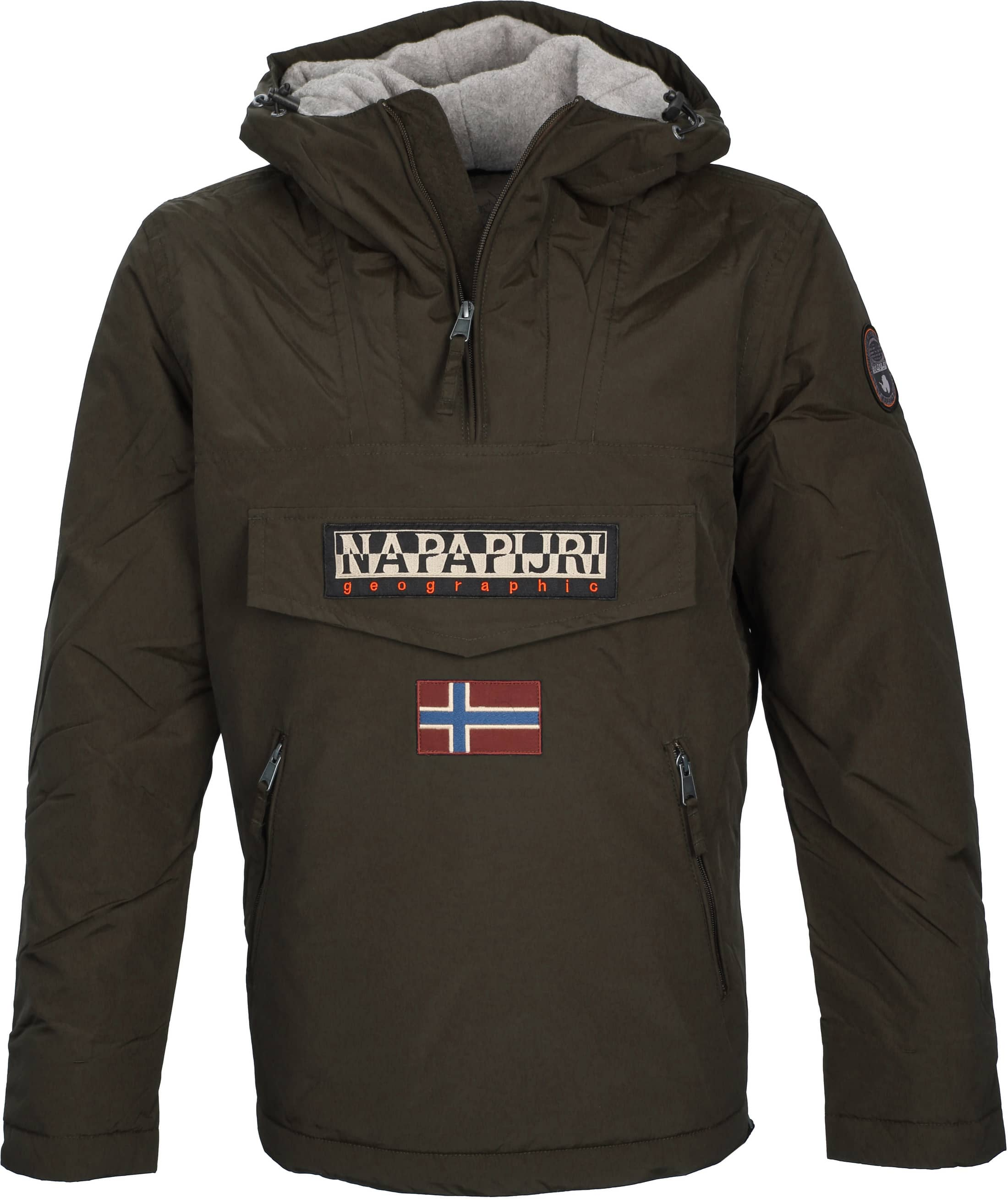 Napapijri Anorak Rainforest Pocket Darkgreen foto 0