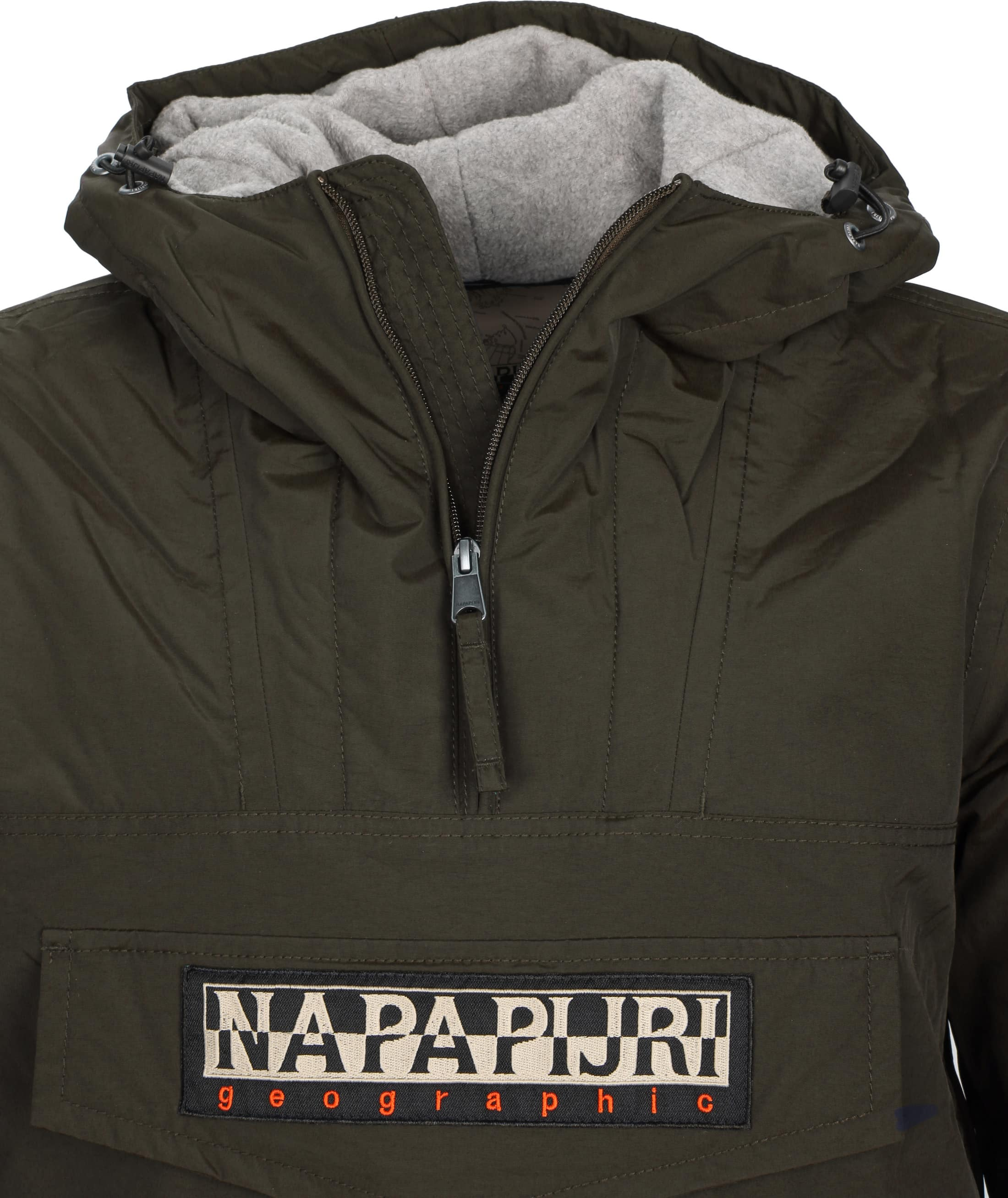 Napapijri Anorak Rainforest Pocket Darkgreen foto 1