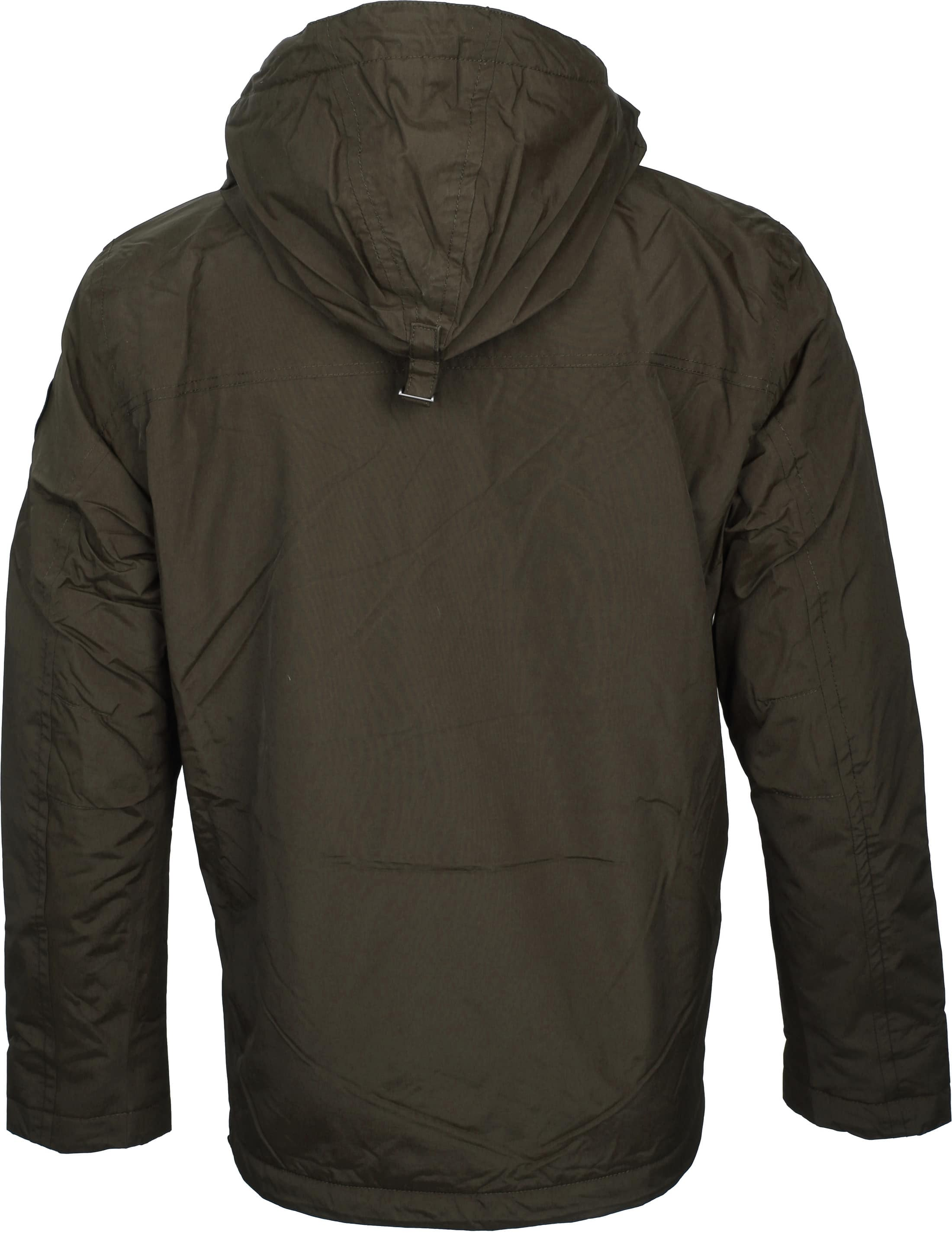 Napapijri Anorak Rainforest Pocket Darkgreen foto 5