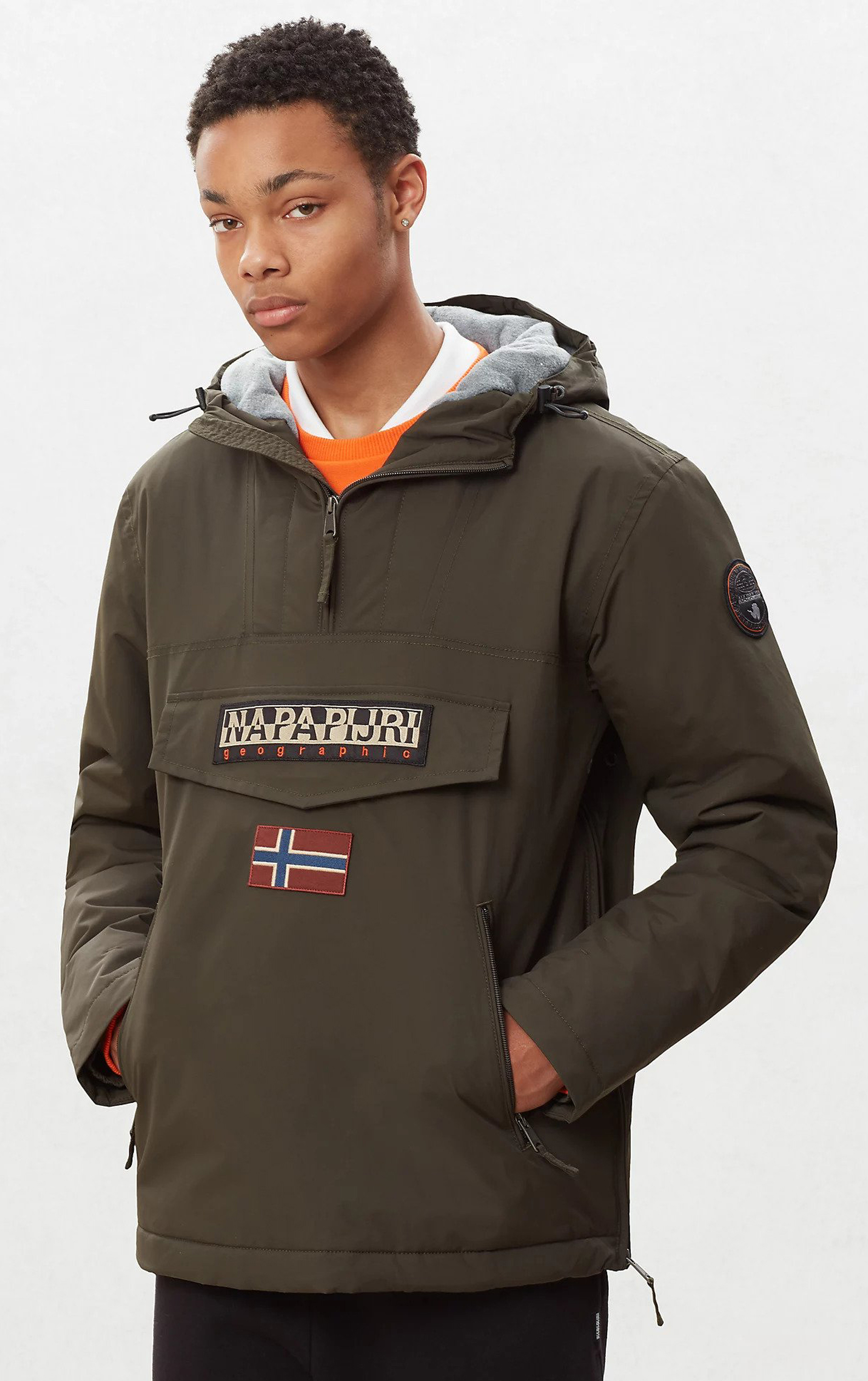 Napapijri Anorak Rainforest Pocket Darkgreen foto 7
