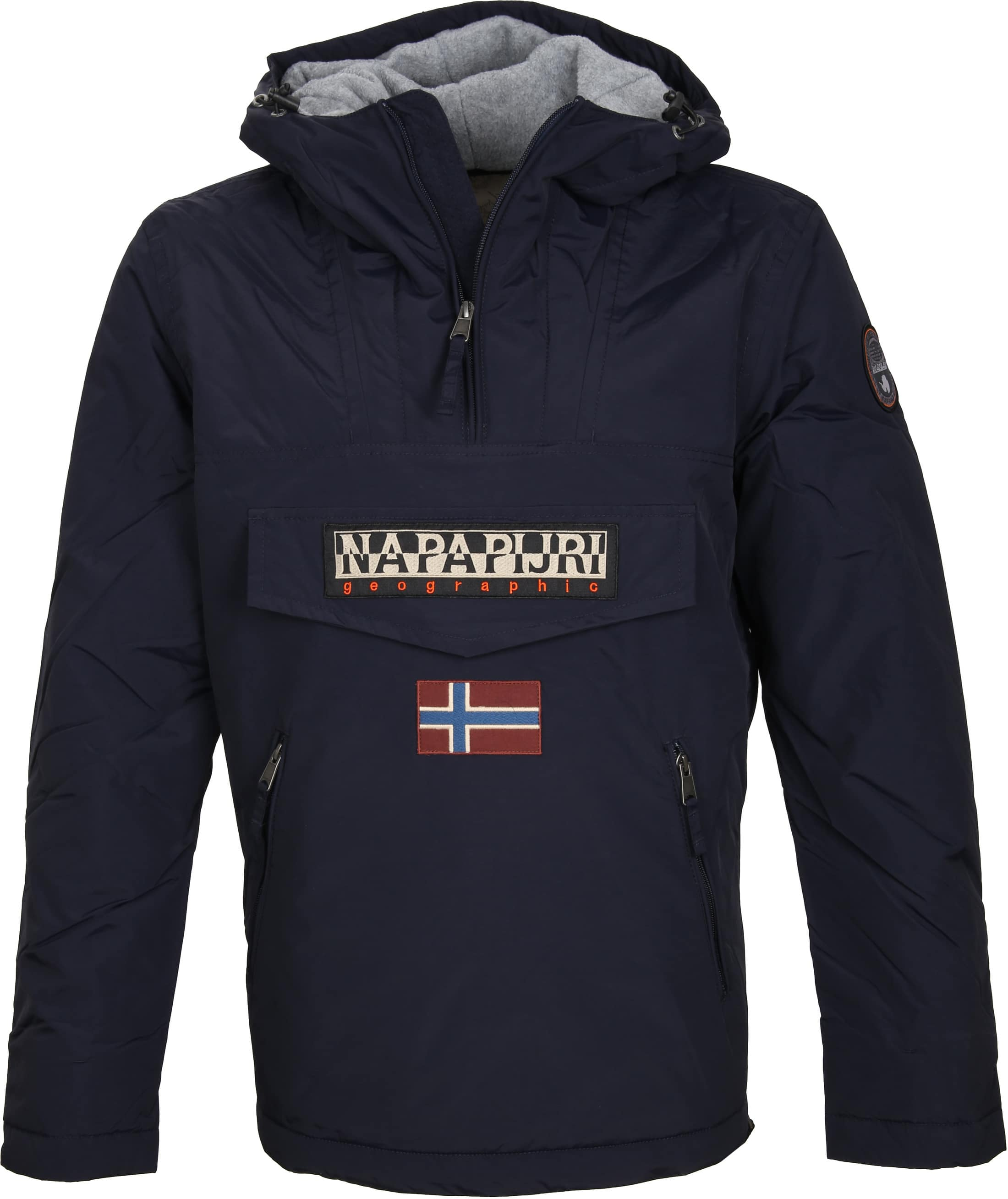 Napapijri Anorak Rainforest Pocket Navy foto 0