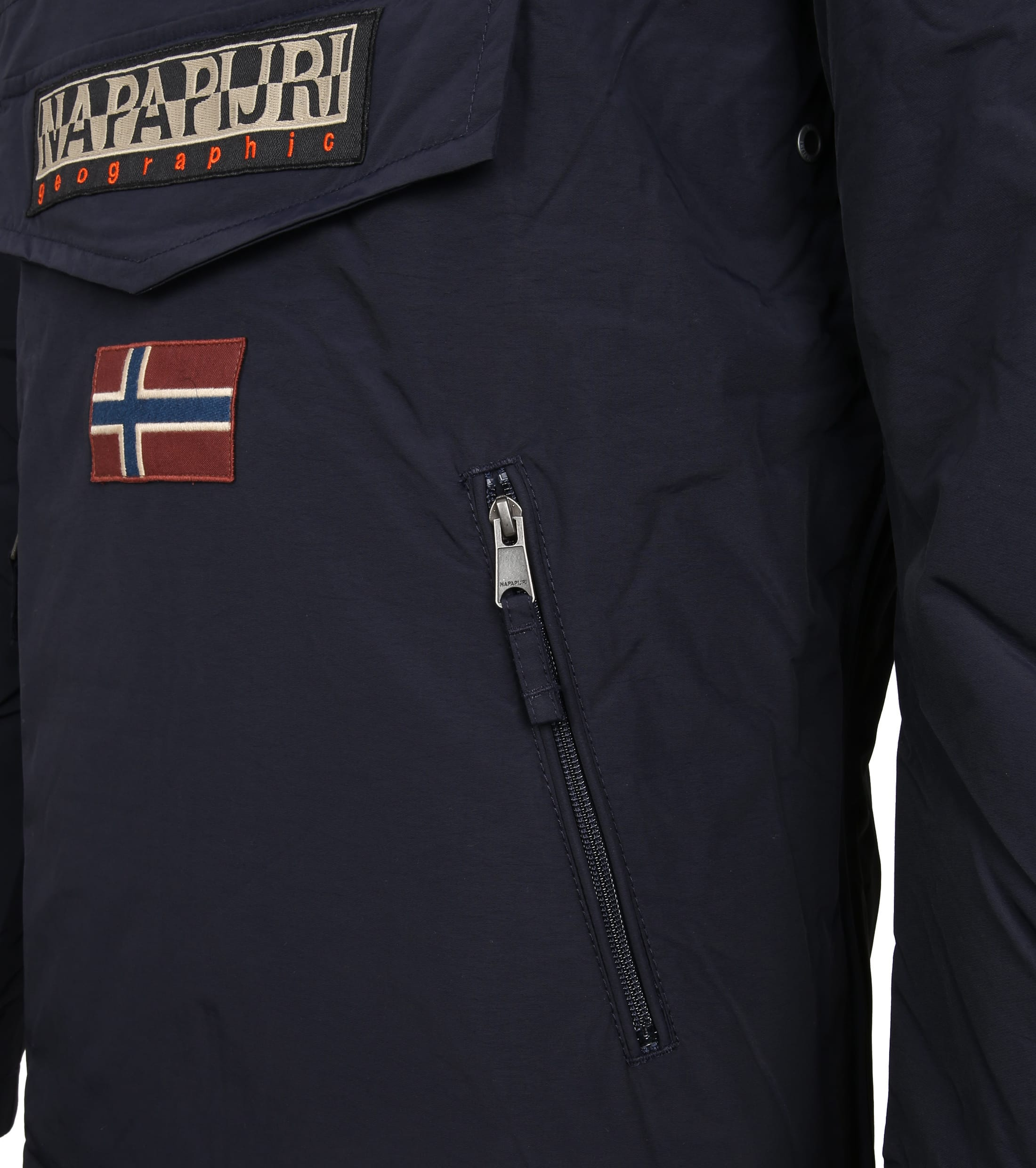 Napapijri Anorak Rainforest Pocket Navy foto 3