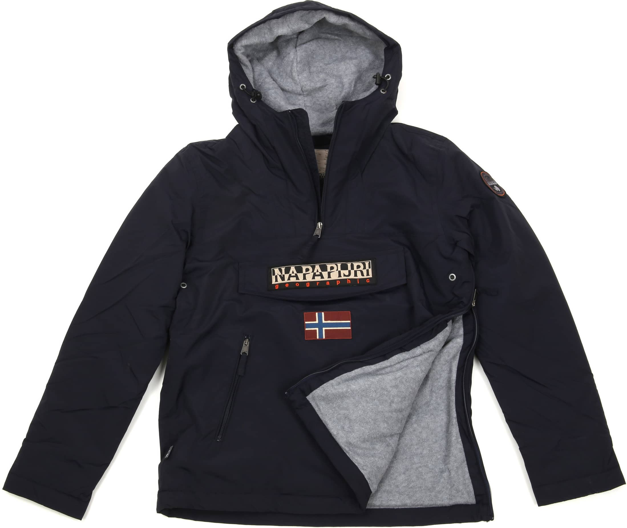 Napapijri Anorak Rainforest Pocket Navy foto 5