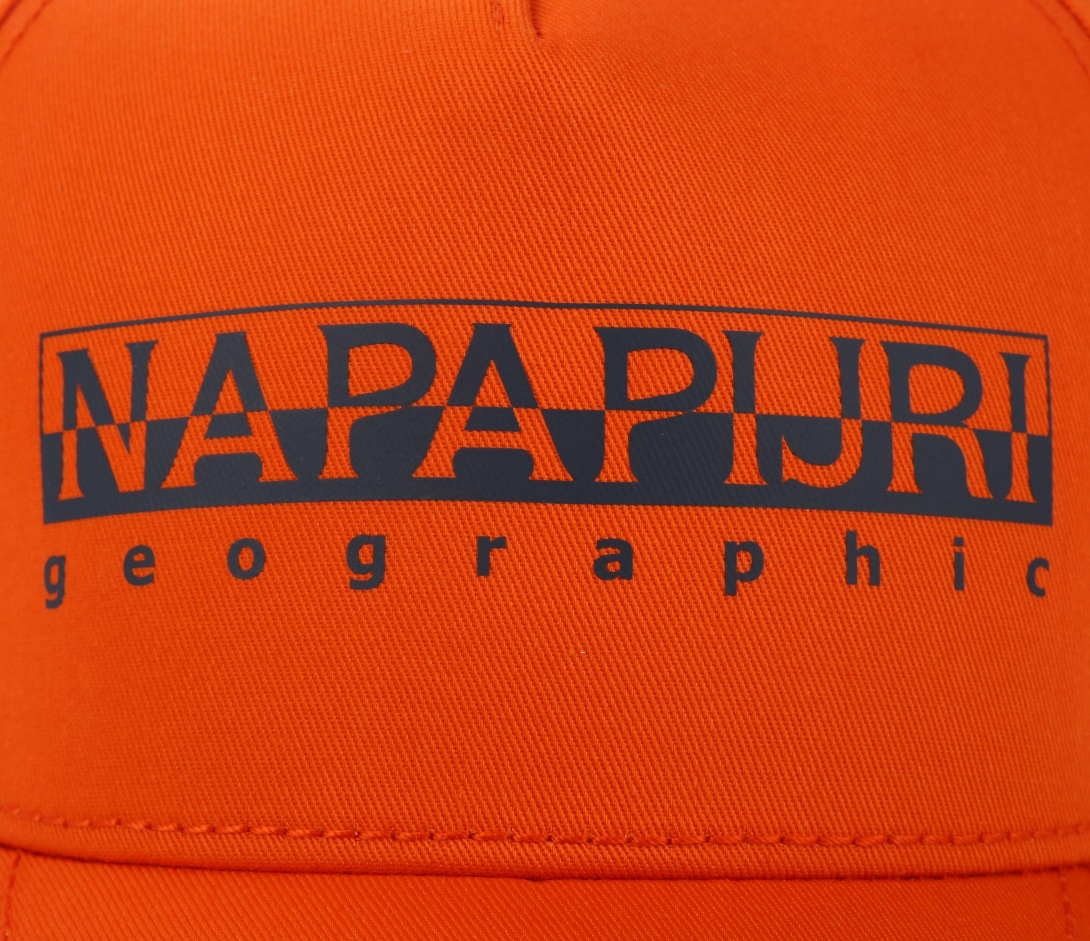 Napapijri Framing Pet Oranje foto 1