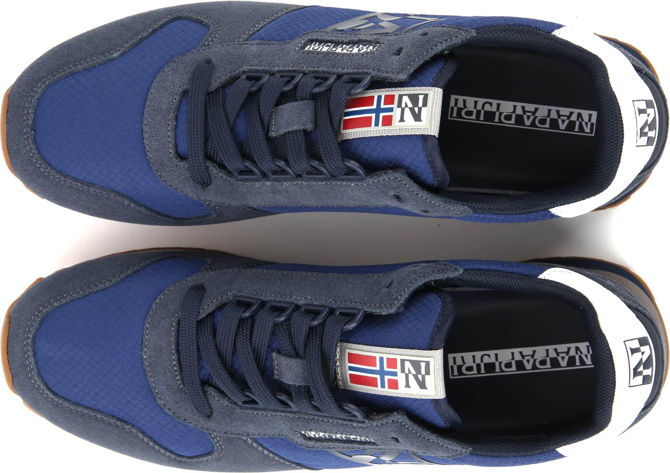Napapijri Insignia Sneaker Blauw foto 2