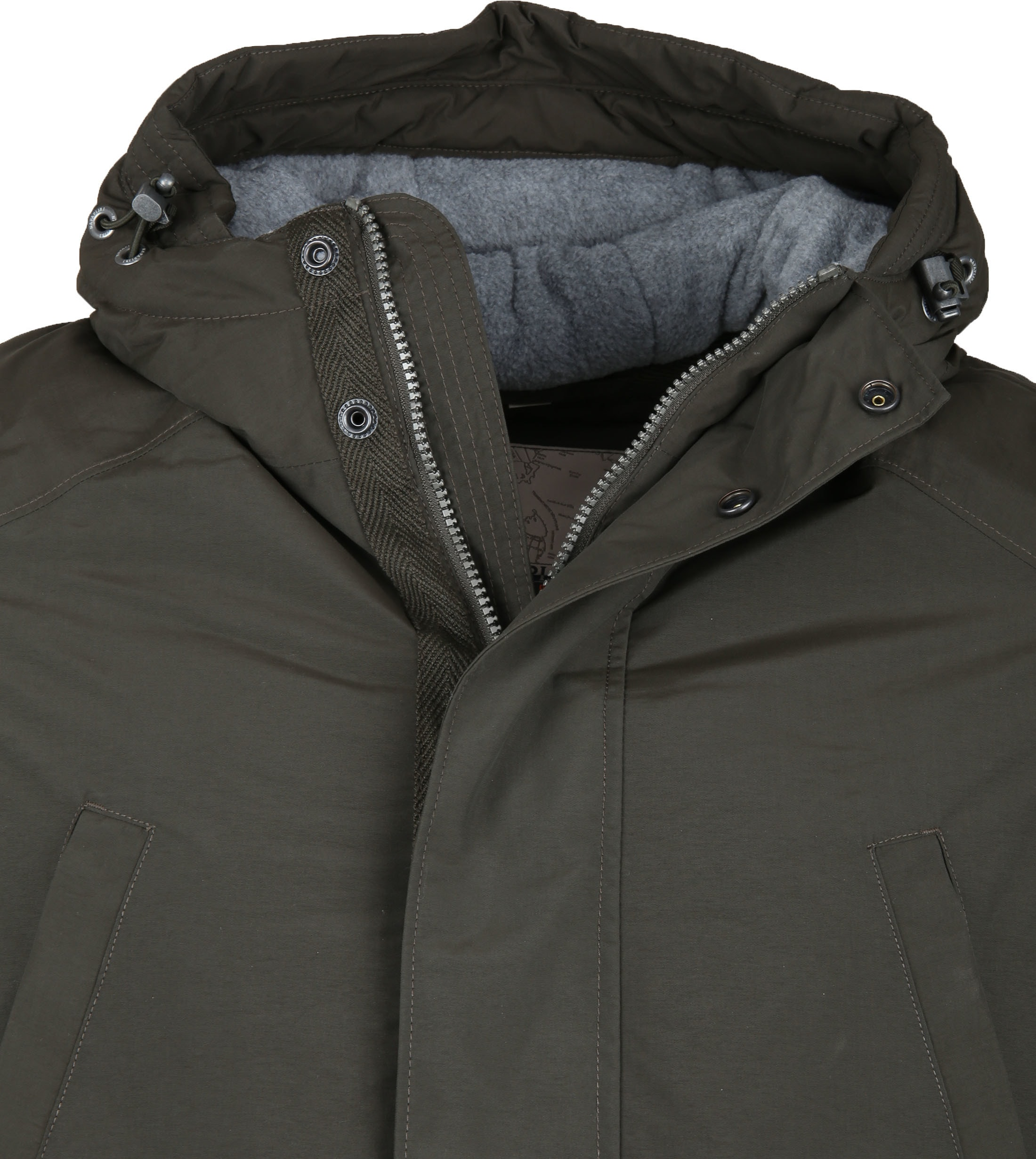Napapijri Jacket Aberdar Dark Green photo 1