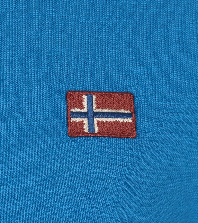 Napapijri Polo Ebea Blauw