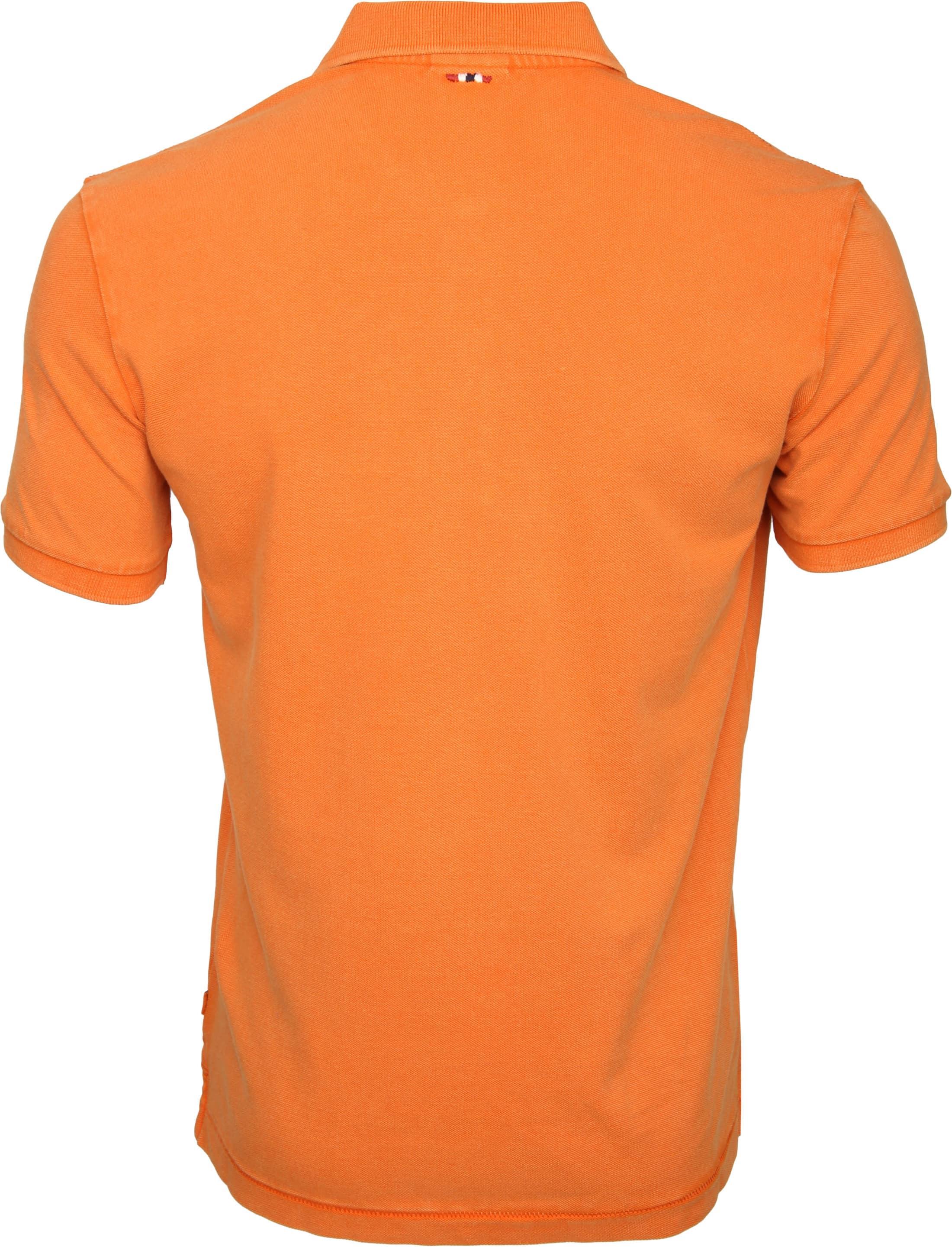 Napapijri Polo Elbas 2 Oranje foto 2