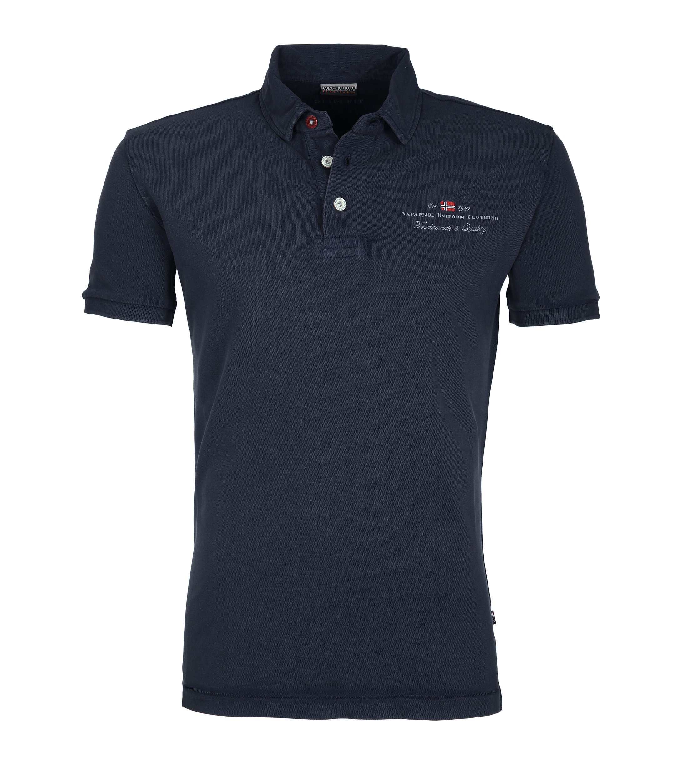 Napapijri Polo Stretch Elbas Navy foto 0