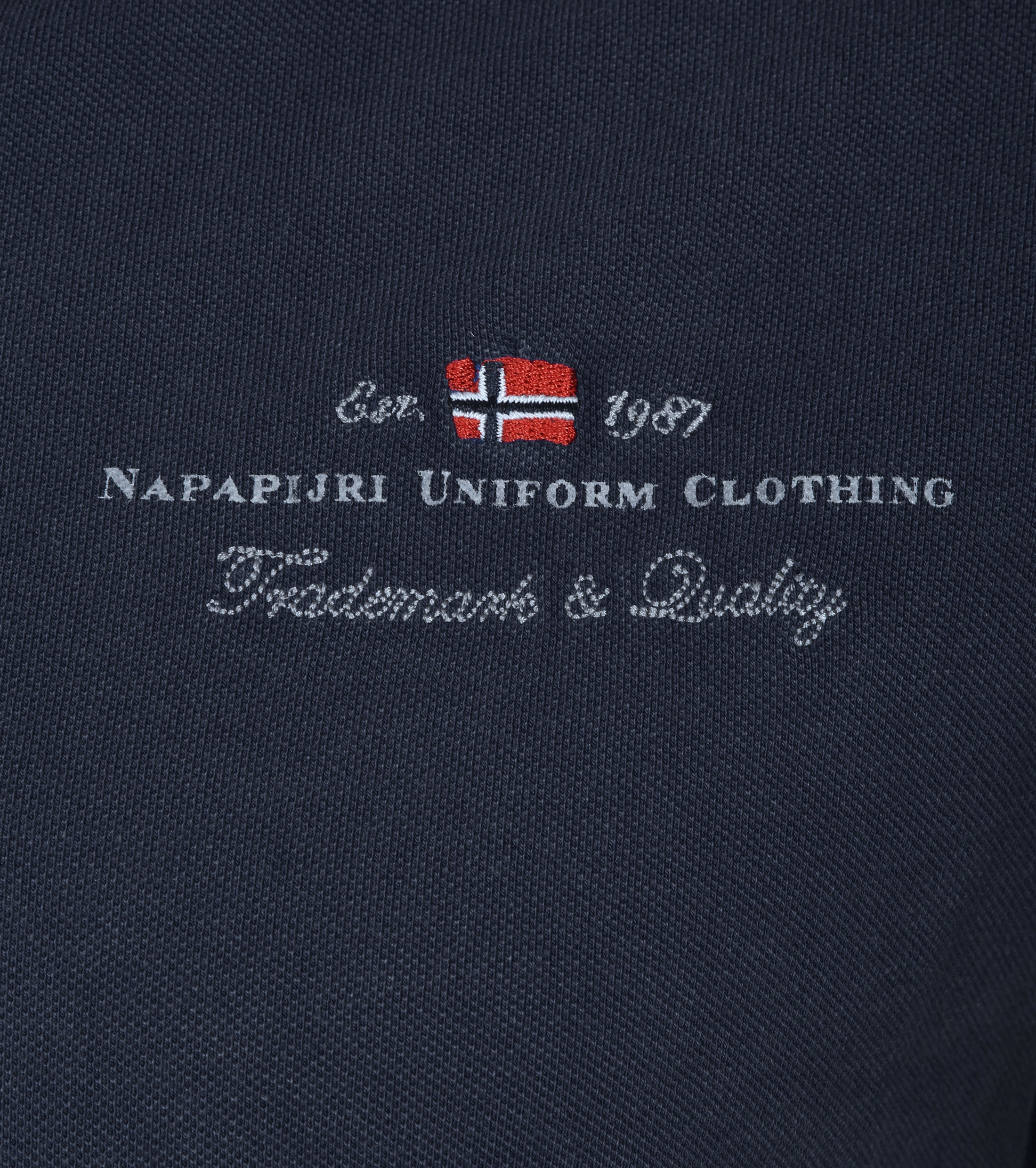 Napapijri Polo Stretch Elbas Navy foto 1