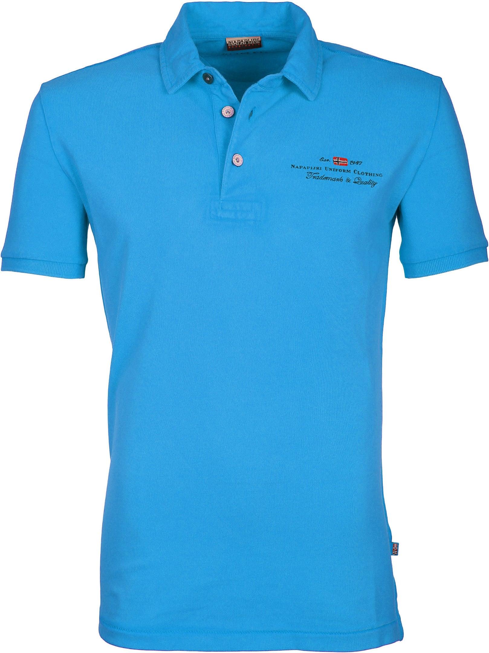 Napapijri Polo Stretch Elbas Turquoise foto 0