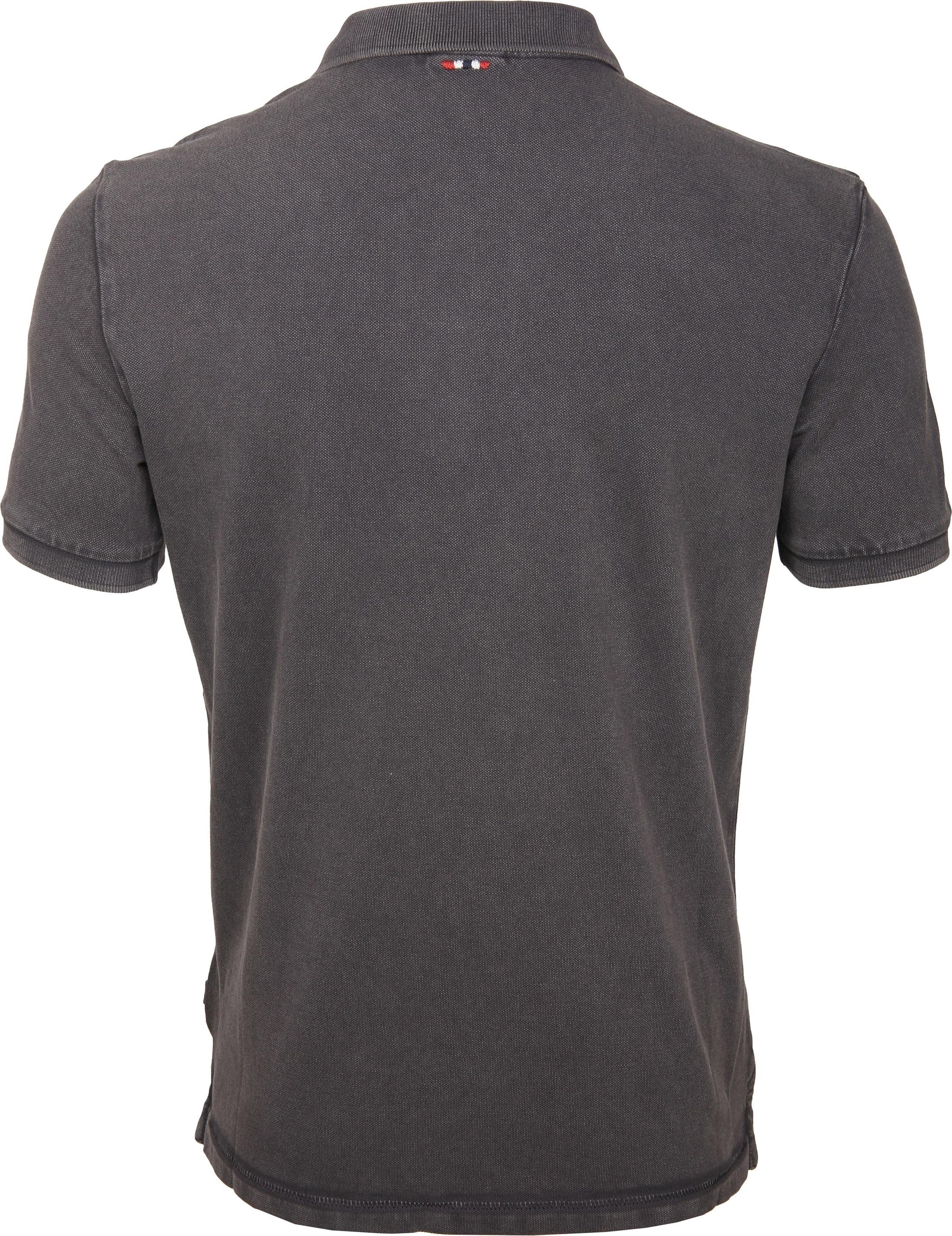 Napapijri Poloshirt Elbas 2 Dark Grey foto 2