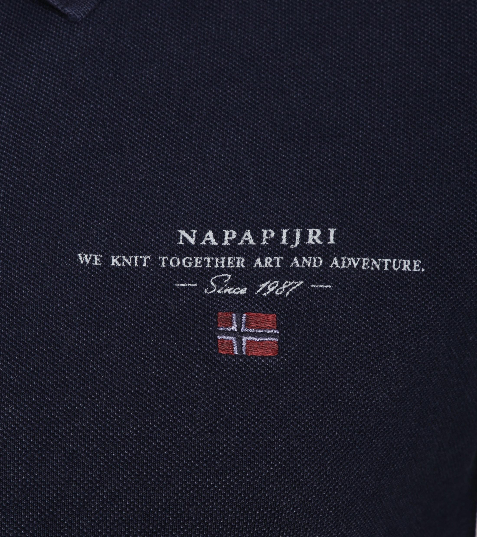 Napapijri Poloshirt Elbas 2 Navy foto 1
