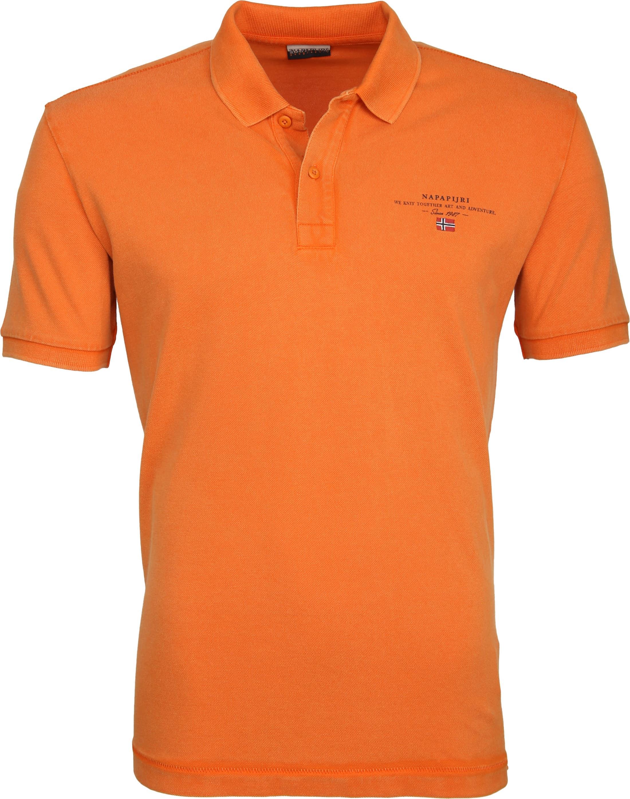 Napapijri Poloshirt Elbas 2 Orange foto 0