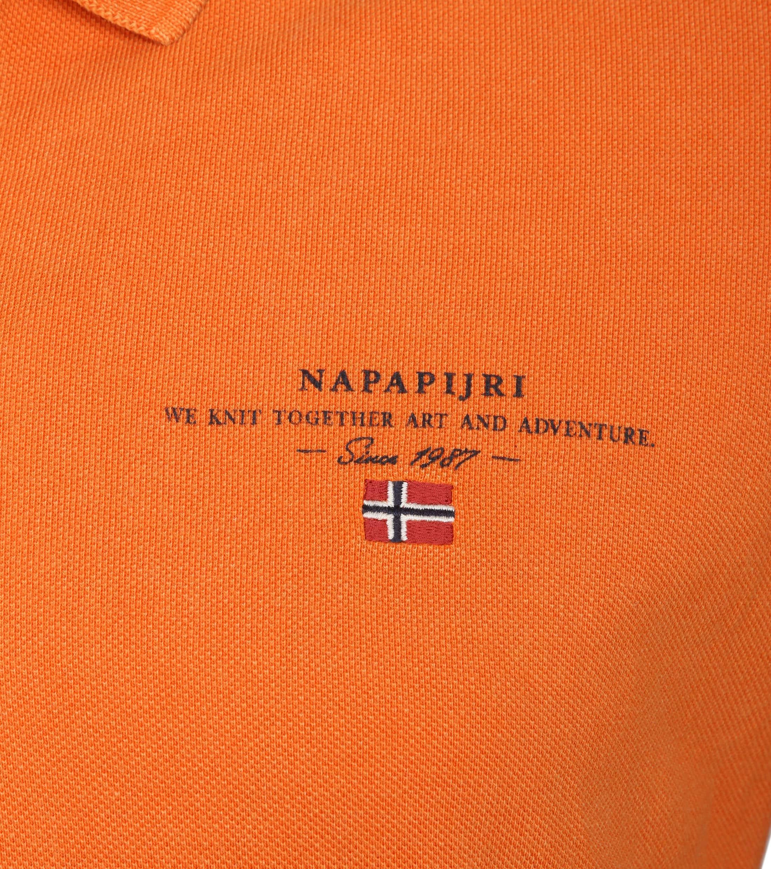 Napapijri Poloshirt Elbas 2 Orange foto 1
