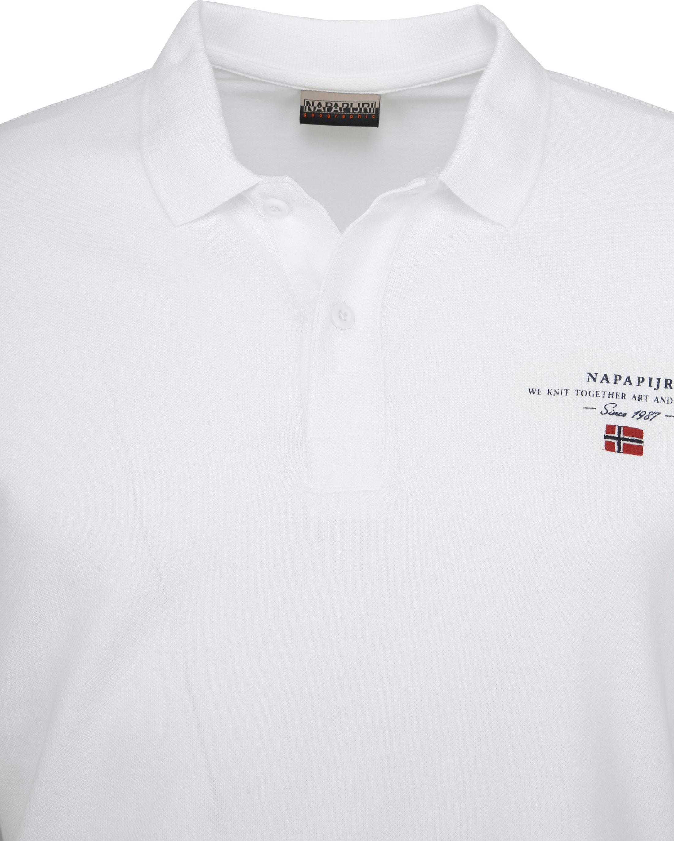 Napapijri Poloshirt Elbas 2 Weiß foto 1