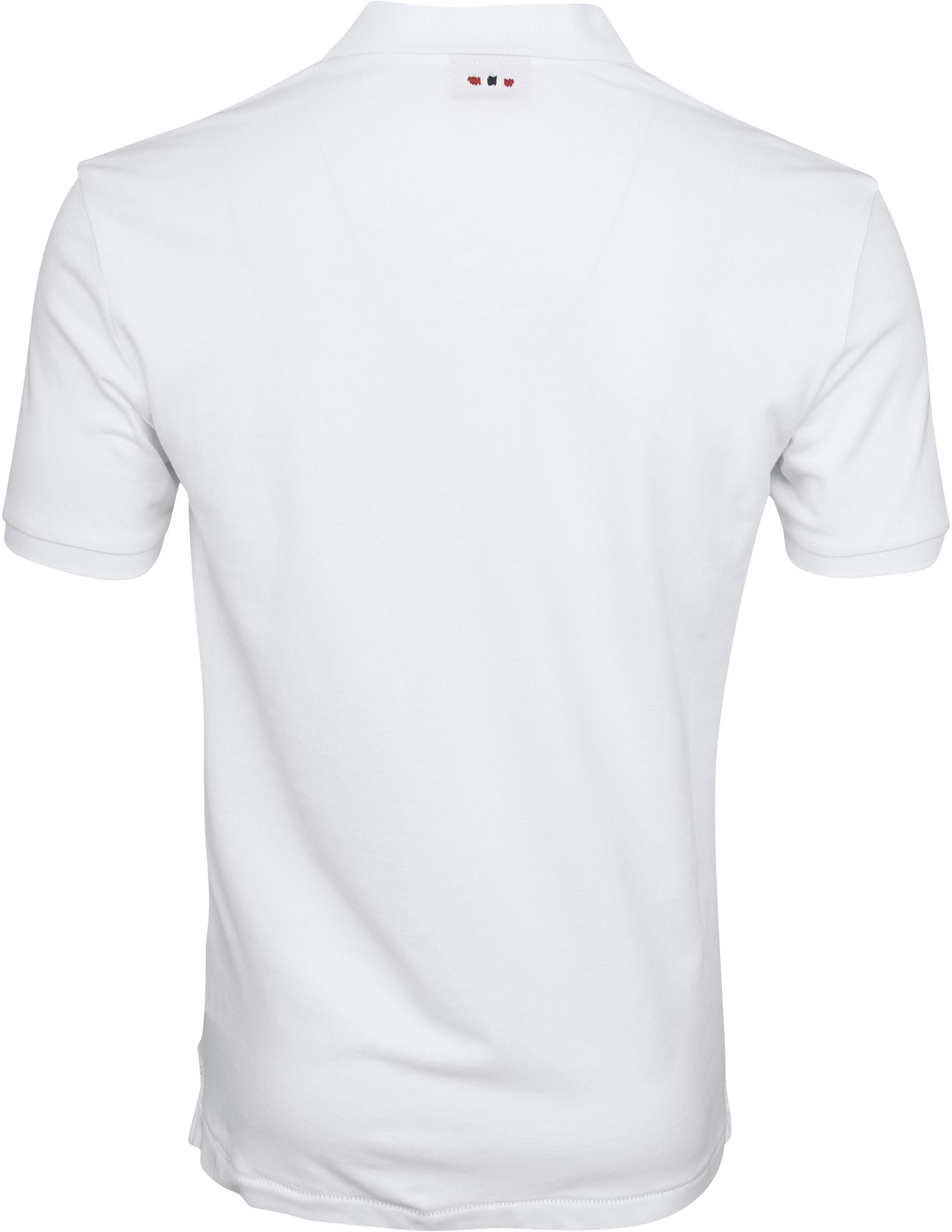 Napapijri Poloshirt Elbas 2 Weiß foto 3