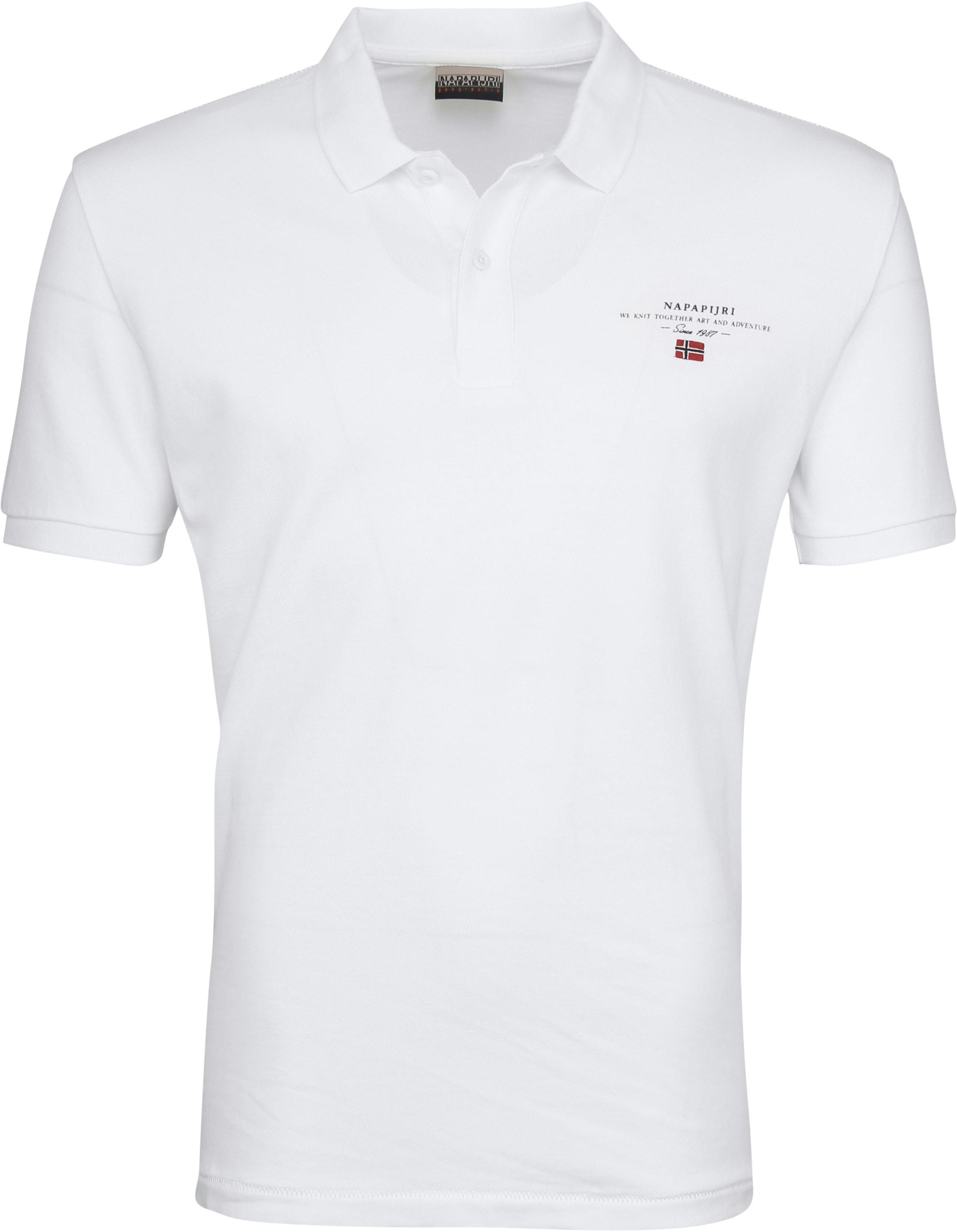 Napapijri Poloshirt Elbas 2 White foto 0