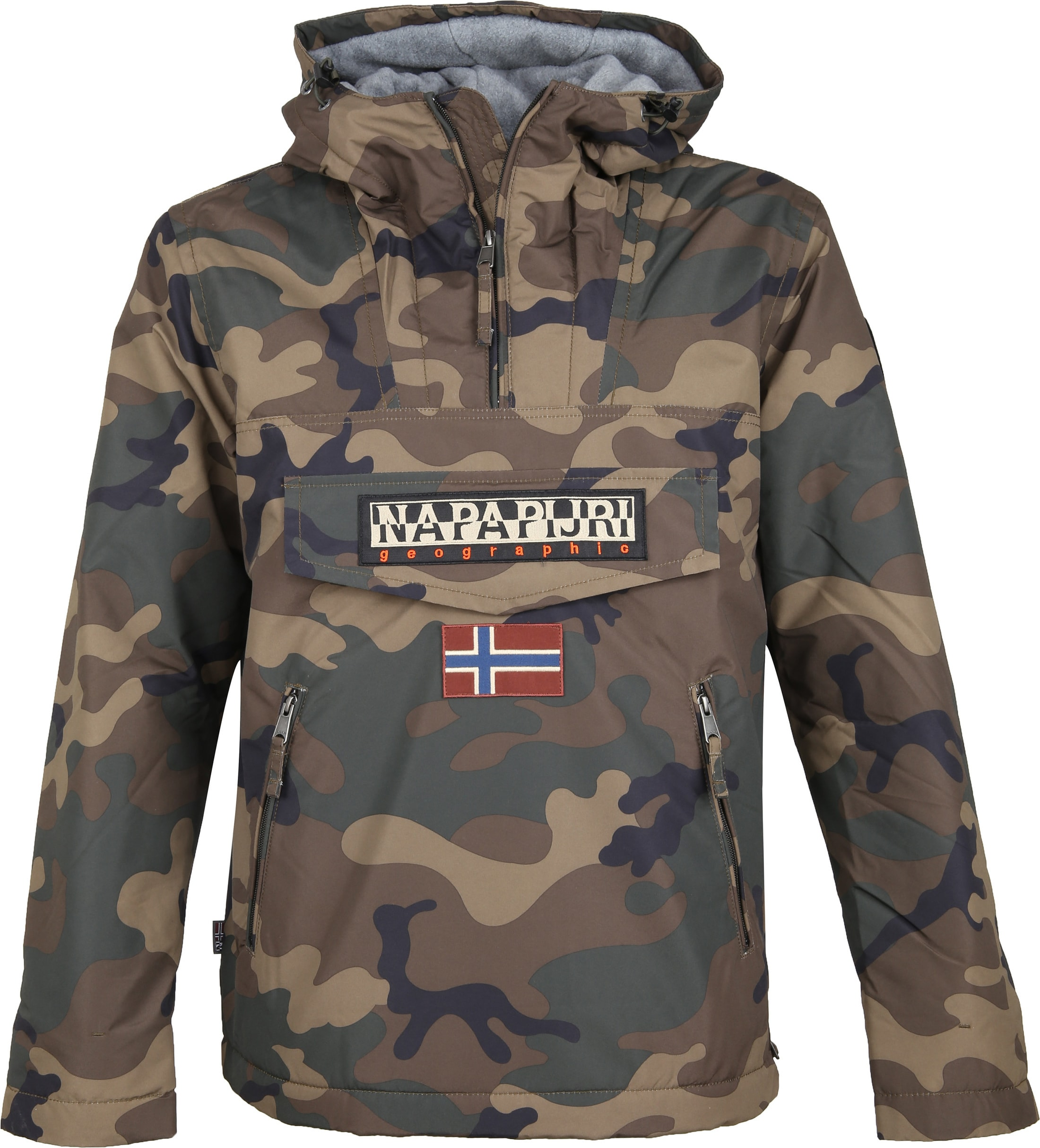 Napapijri Rainforest Anorak Pocket Camo foto 0