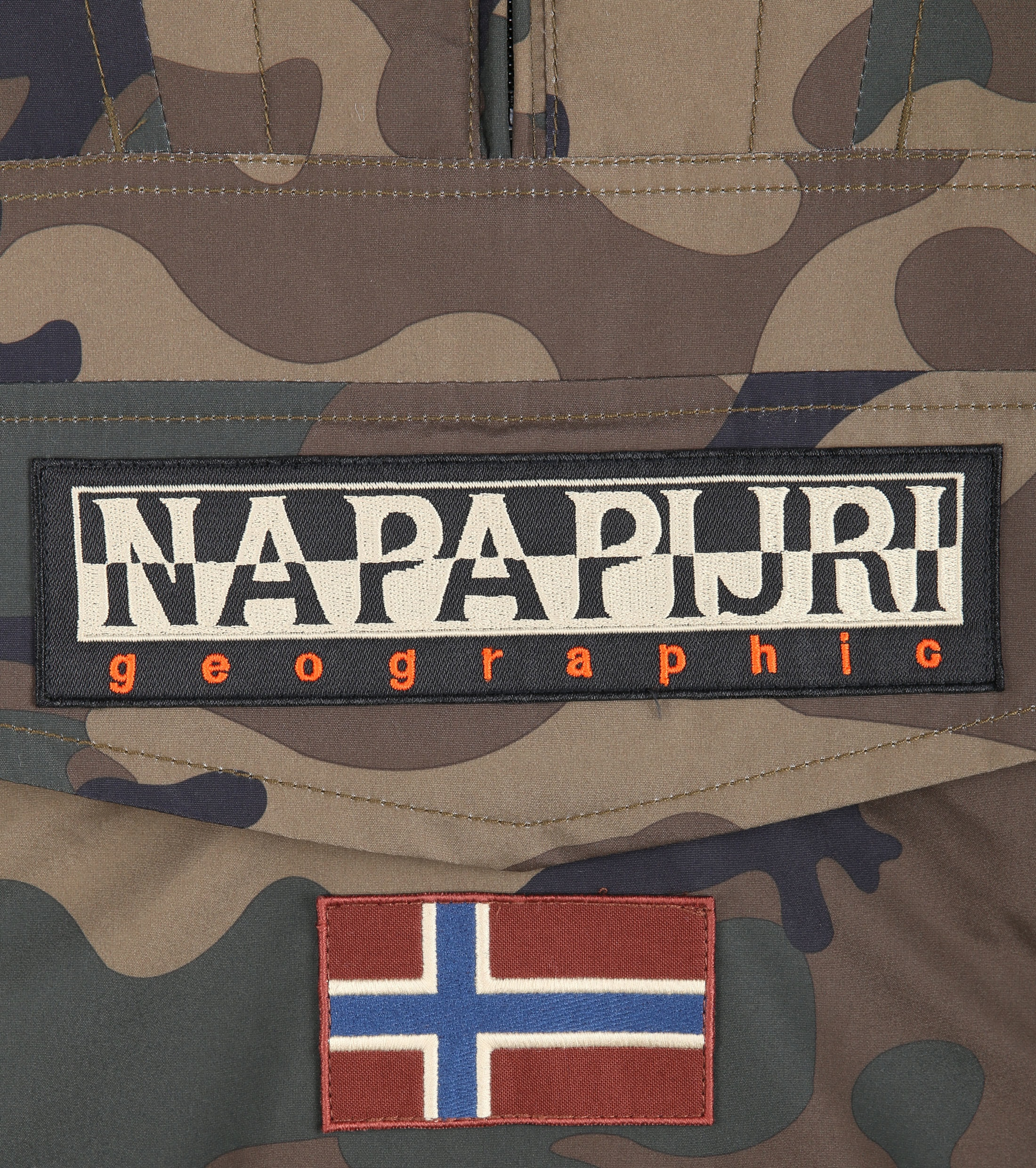 Napapijri Rainforest Anorak Pocket Camo foto 2