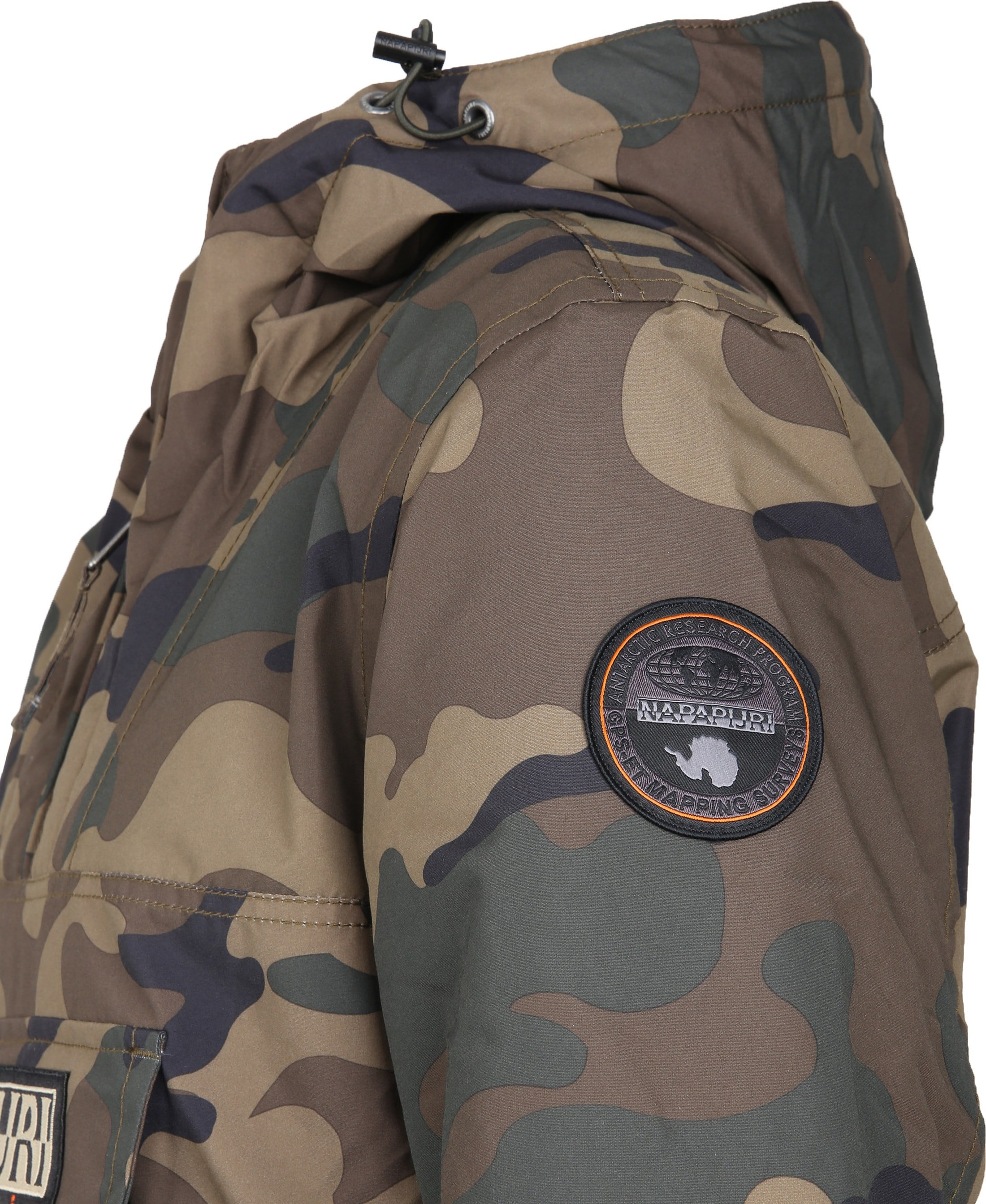 Napapijri Rainforest Anorak Pocket Camo foto 3