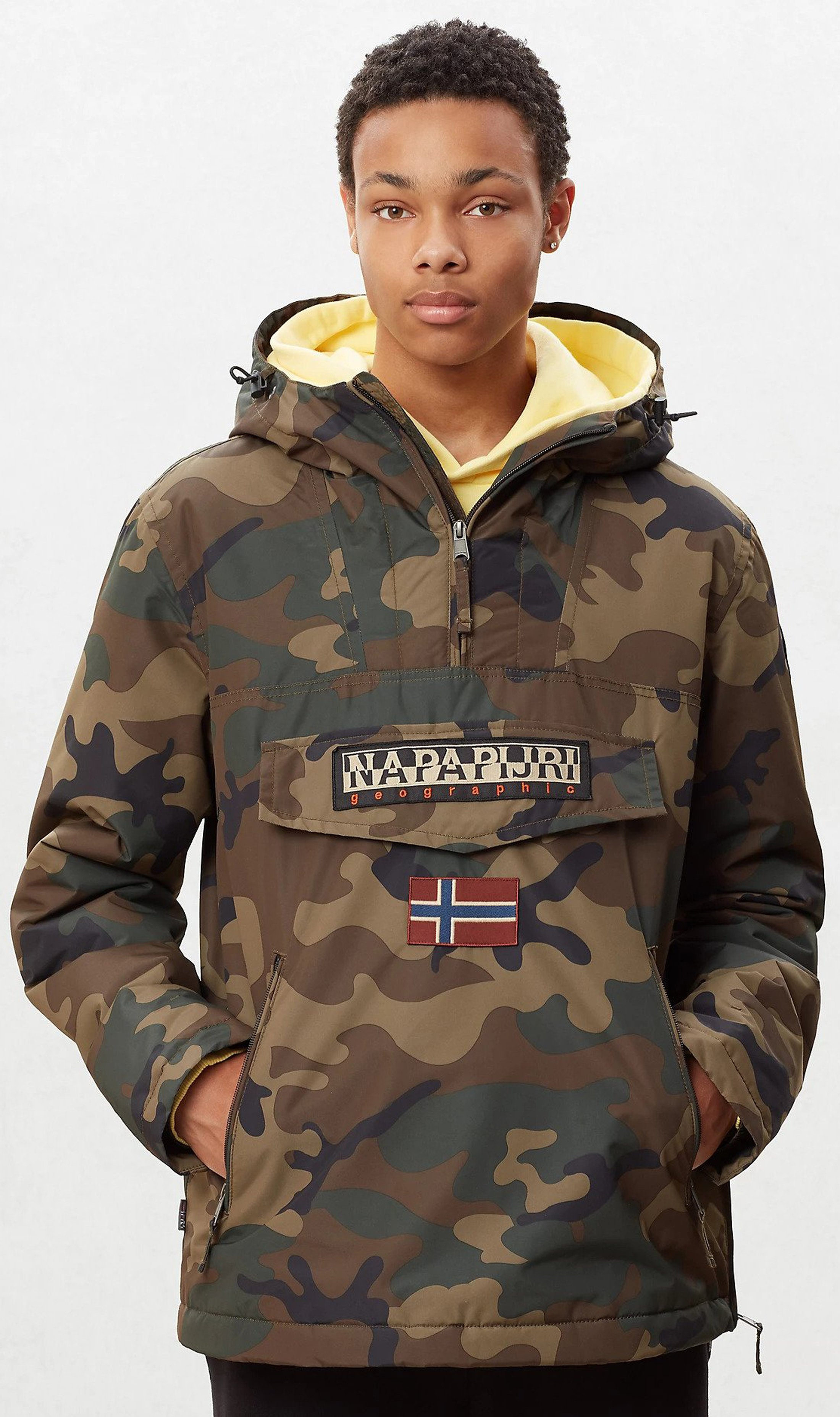 Napapijri Rainforest Anorak Pocket Camo foto 7