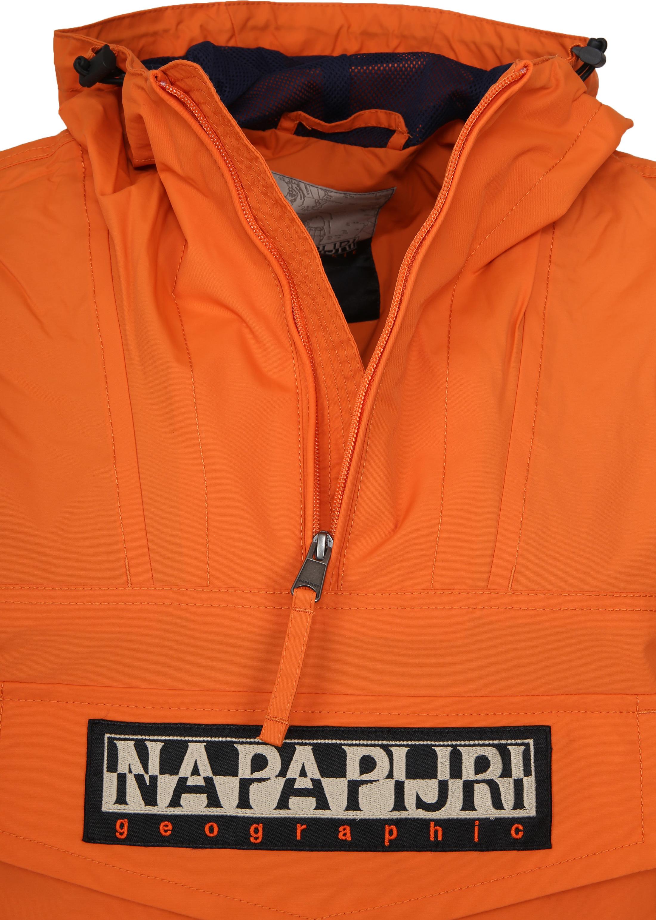 Napapijri Rainforest Summer Jacket Orange  foto 1