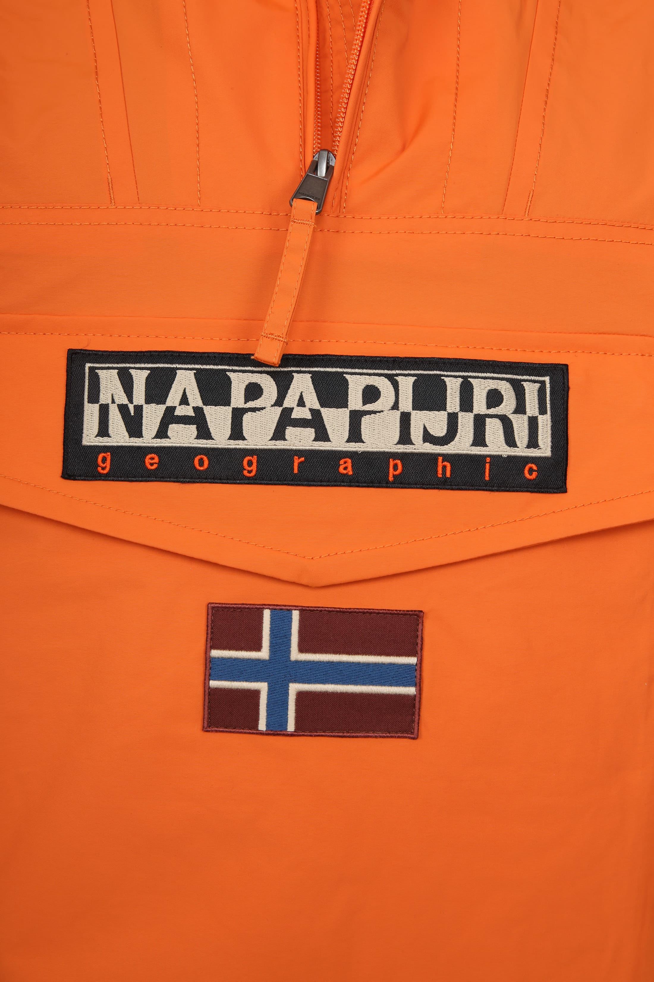 Napapijri Rainforest Summer Jacket Orange  foto 2