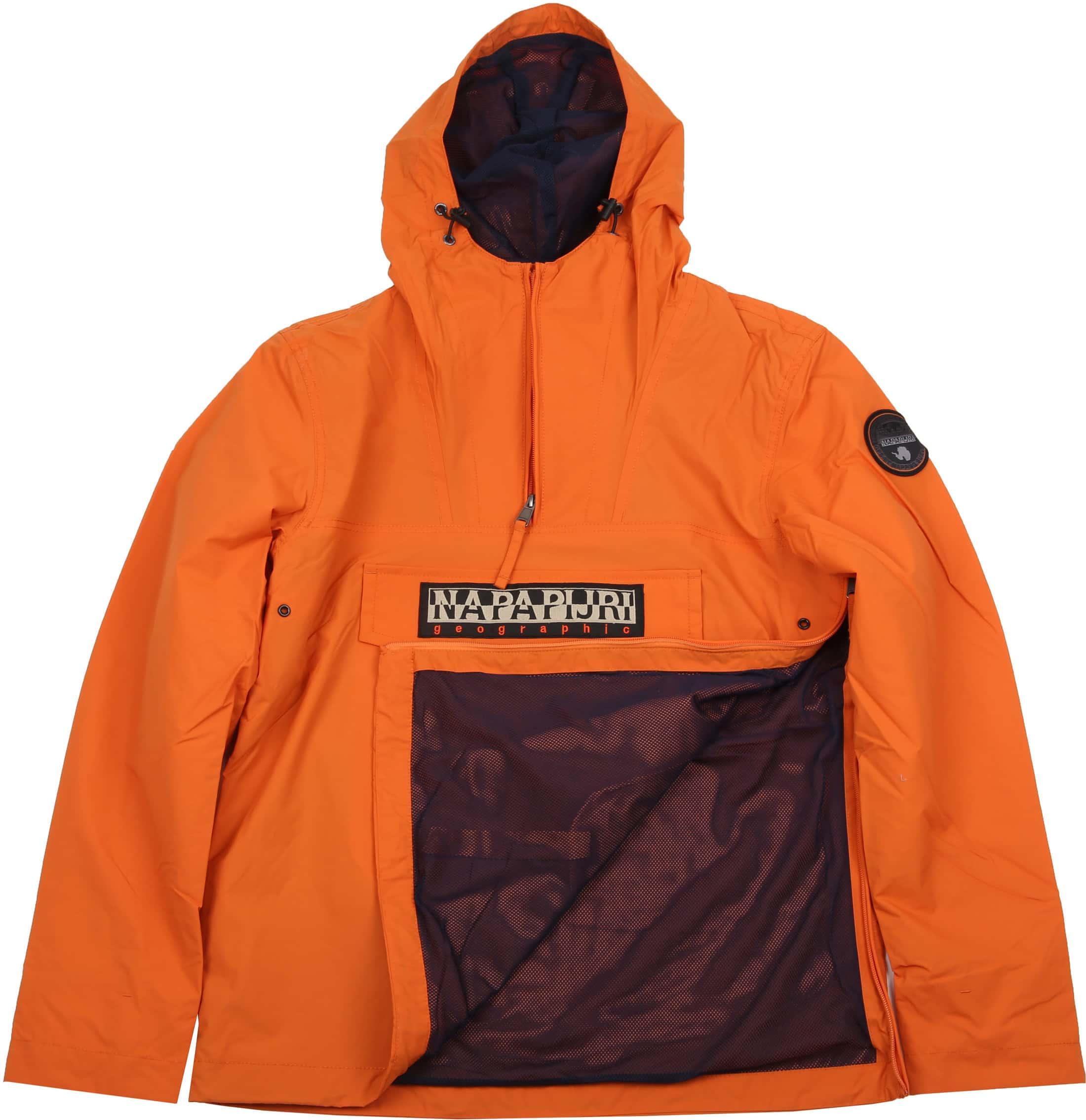Napapijri Rainforest Summer Jacket Orange  foto 6