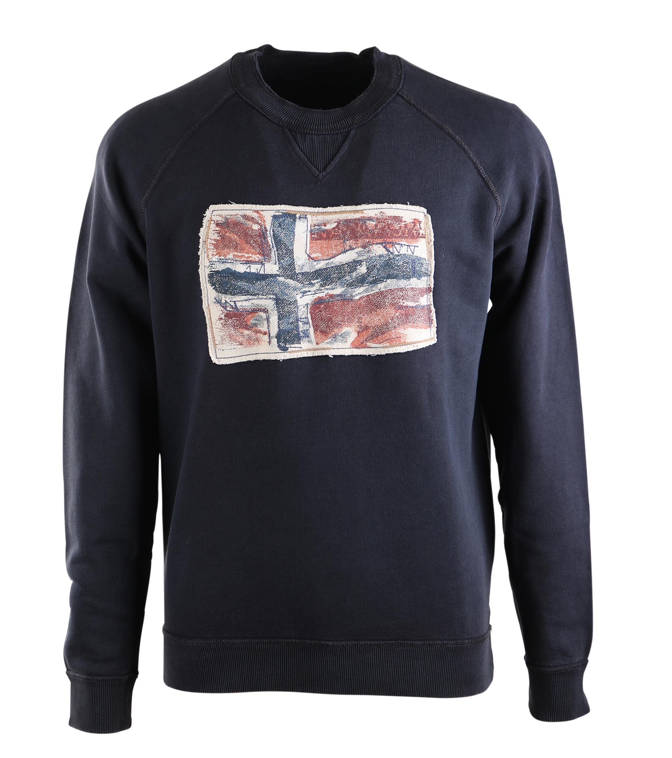 Napapijri Sweater Babos Donkerblauw foto 0