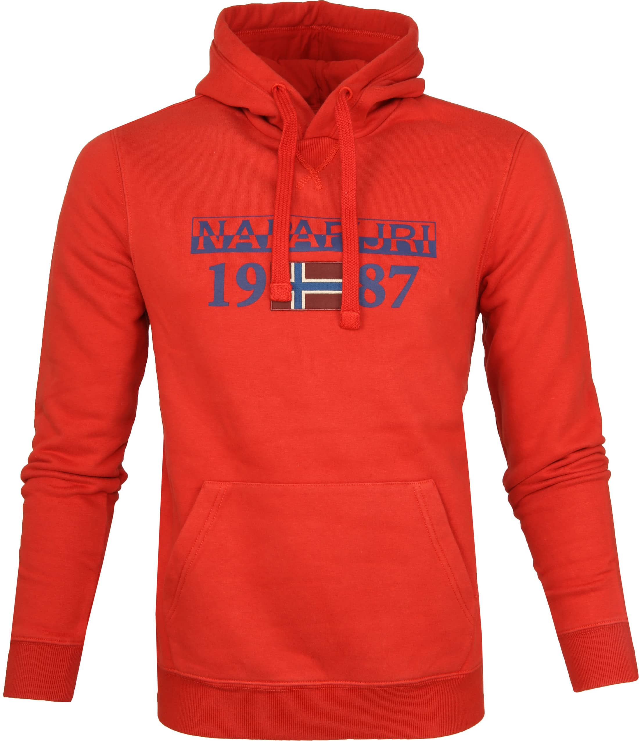 Napapijri Sweater Berthow Dark Orange foto 0