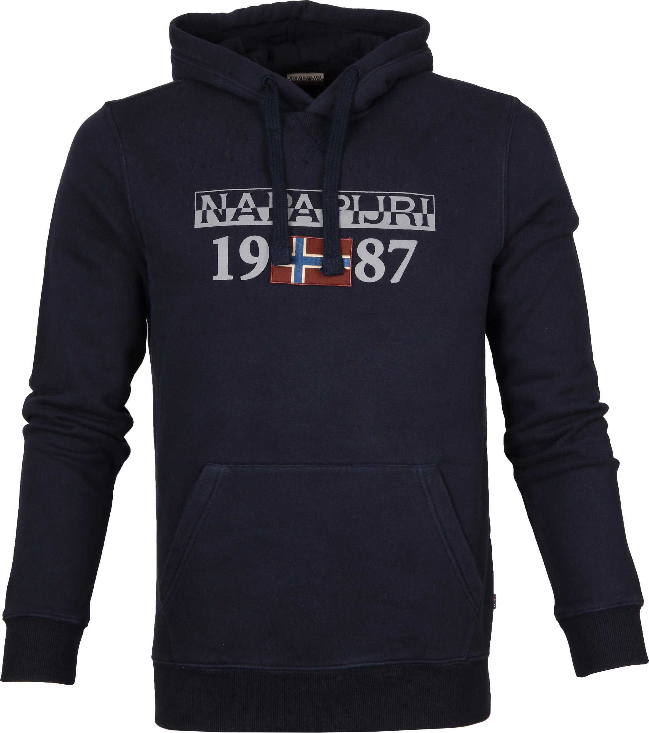 Napapijri Sweater Berthow Navy foto 0