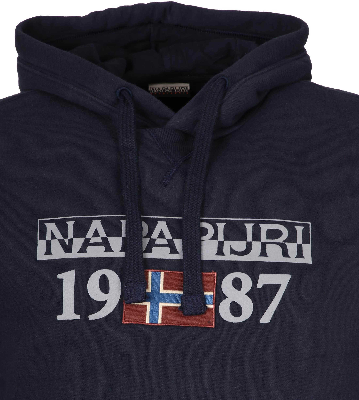 Napapijri Sweater Berthow Navy foto 1